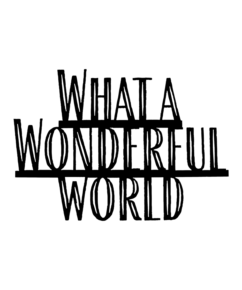 White Barn Décor 'what A Wonderful World' Wall Art within Wonderful World Wall Decor (Image 23 of 30)