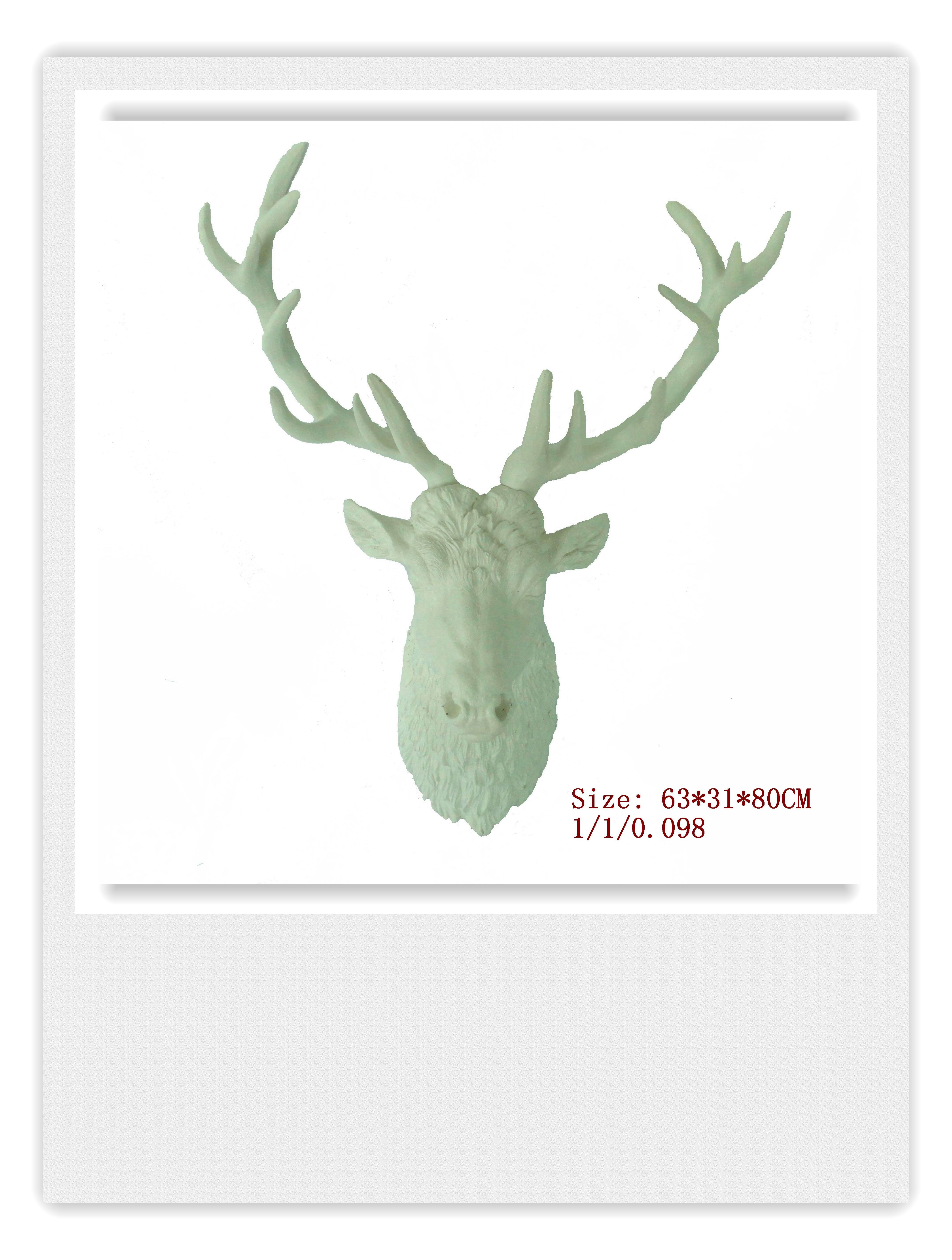White Large Deer Head Wall Hanging,the White Stag Decorwhite Faux Taxidermy Animals Heads For Home Decor – Buy Deer Head,wall Hanging,decoration With Large Deer Head Faux Taxidermy Wall Decor (View 11 of 30)