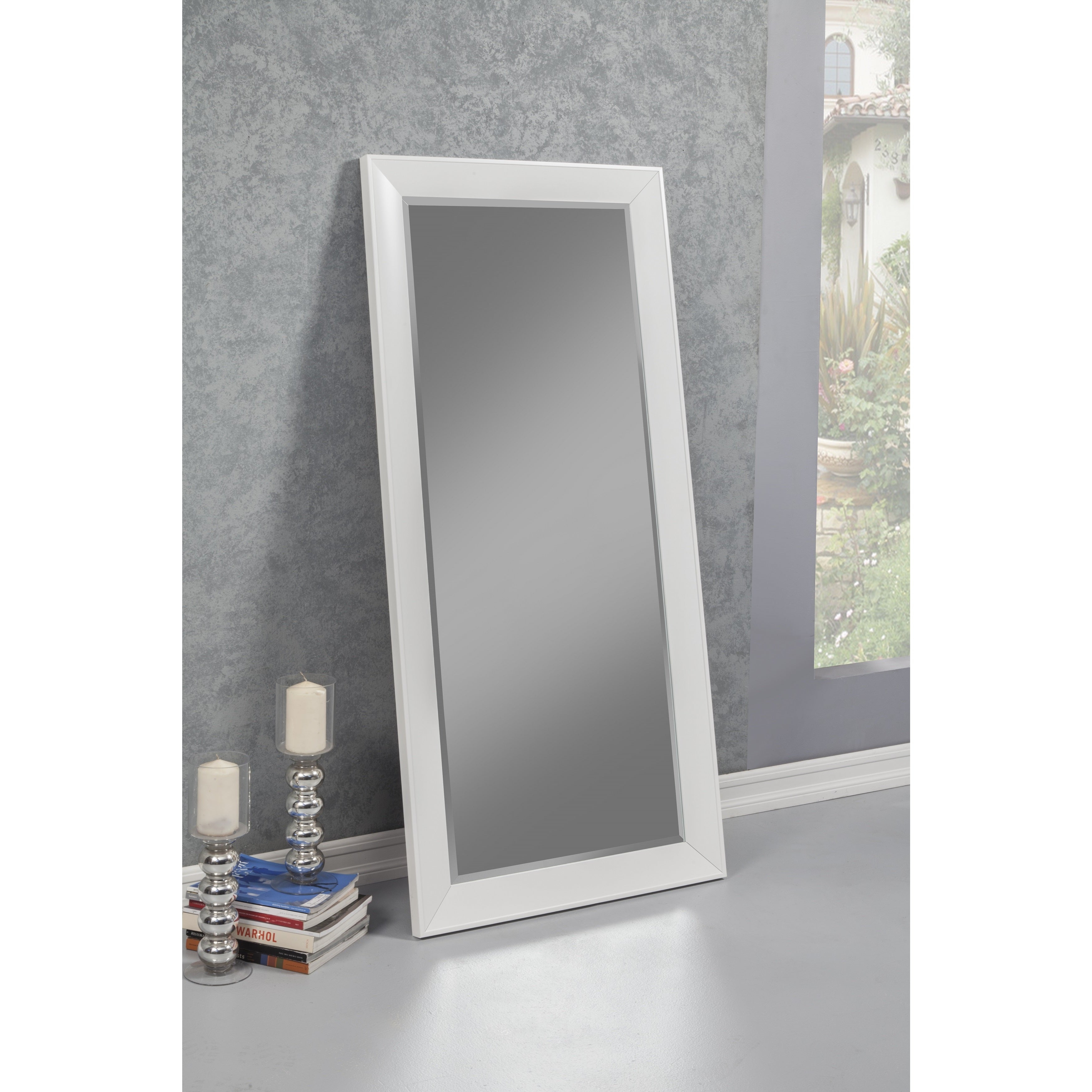 White Mirrors | Shop Online At Overstock Within Modern & Contemporary Beveled Accent Mirrors (View 30 of 30)