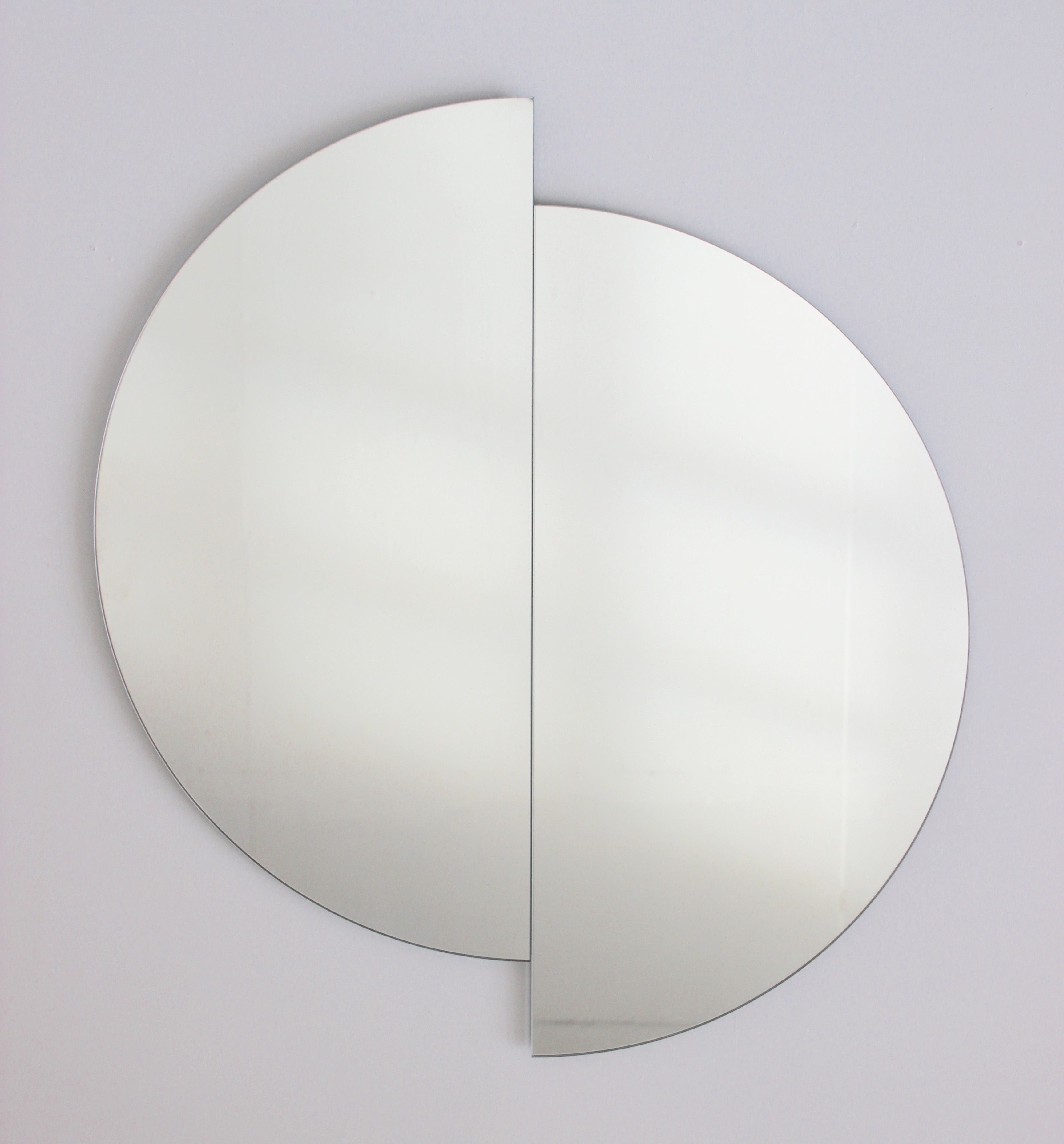 Why Not Be More Playful With Your Round Mirror? Our Luna With Luna Accent Mirrors (View 22 of 30)