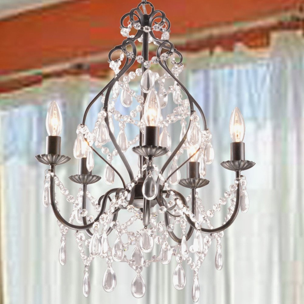 Wilkerson 5 Light Chandelier In Hesse 5 Light Candle Style Chandeliers (View 6 of 30)