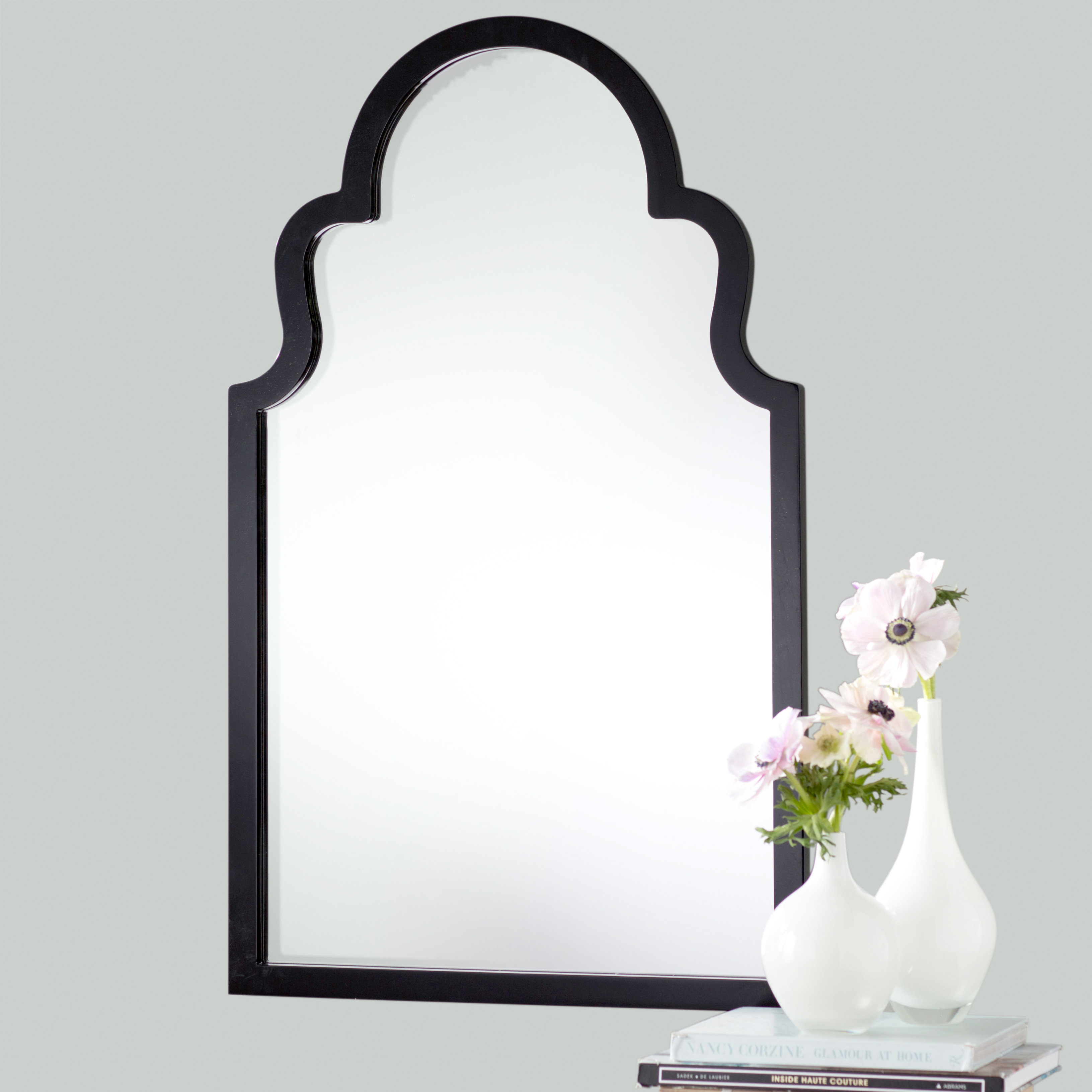 Willa Arlo Interiors Fifi Contemporary Arch Wall Mirror with Arch Vertical Wall Mirrors (Image 30 of 30)