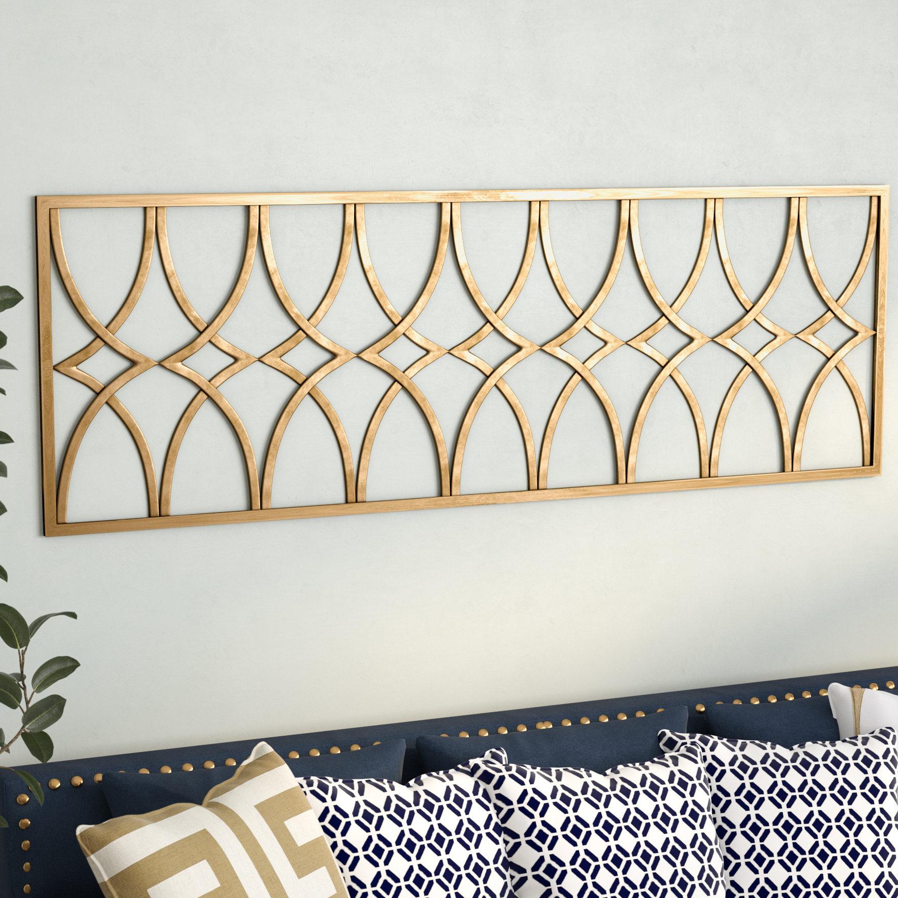 Willa Arlo Interiors Gold Metal Wall Decor | Wayfair For Starburst Wall Decor By Willa Arlo Interiors (View 23 of 30)