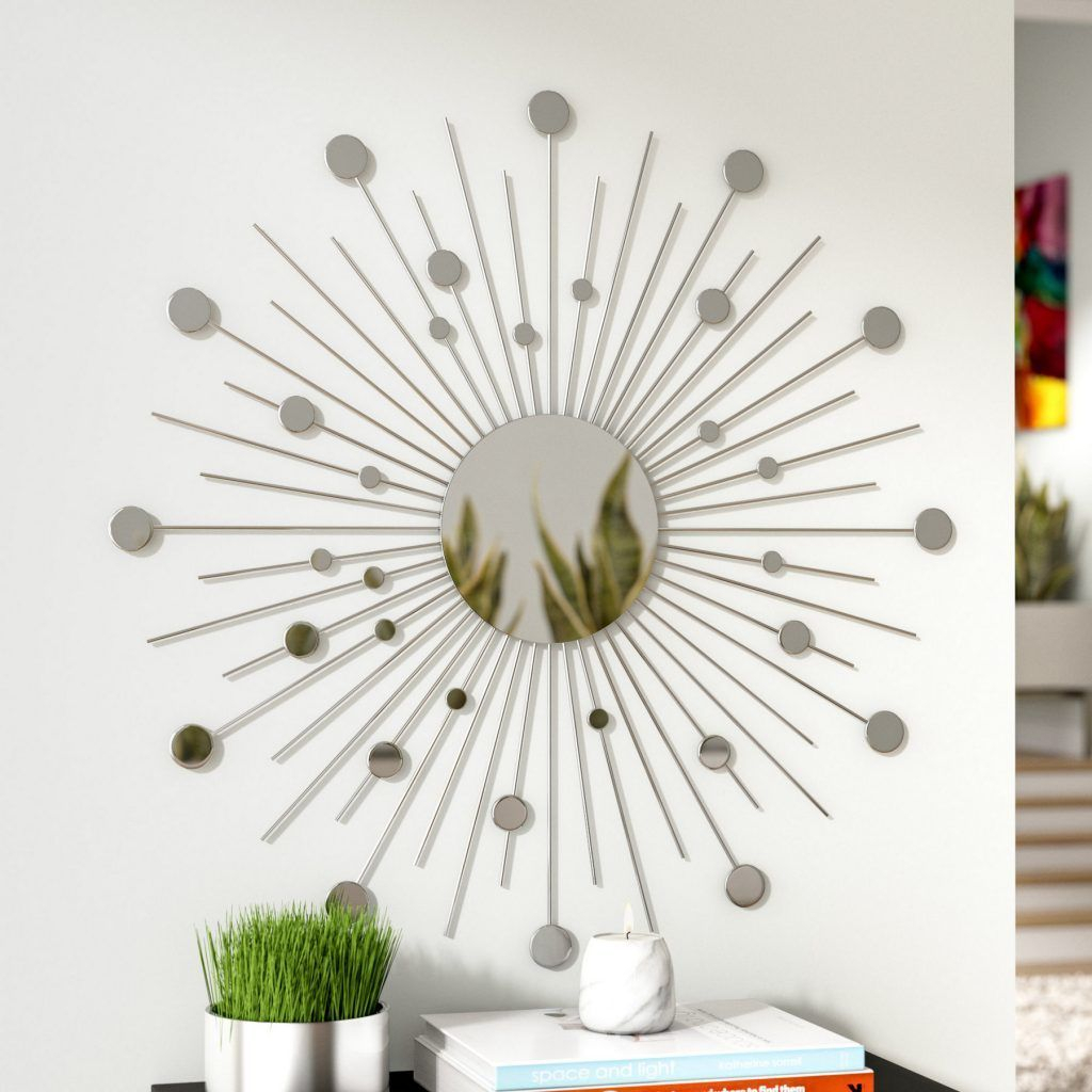 Willa Arlo Interiors Starburst Metal Wall Décor | Guest intended for Starburst Wall Decor by Willa Arlo Interiors (Image 27 of 30)