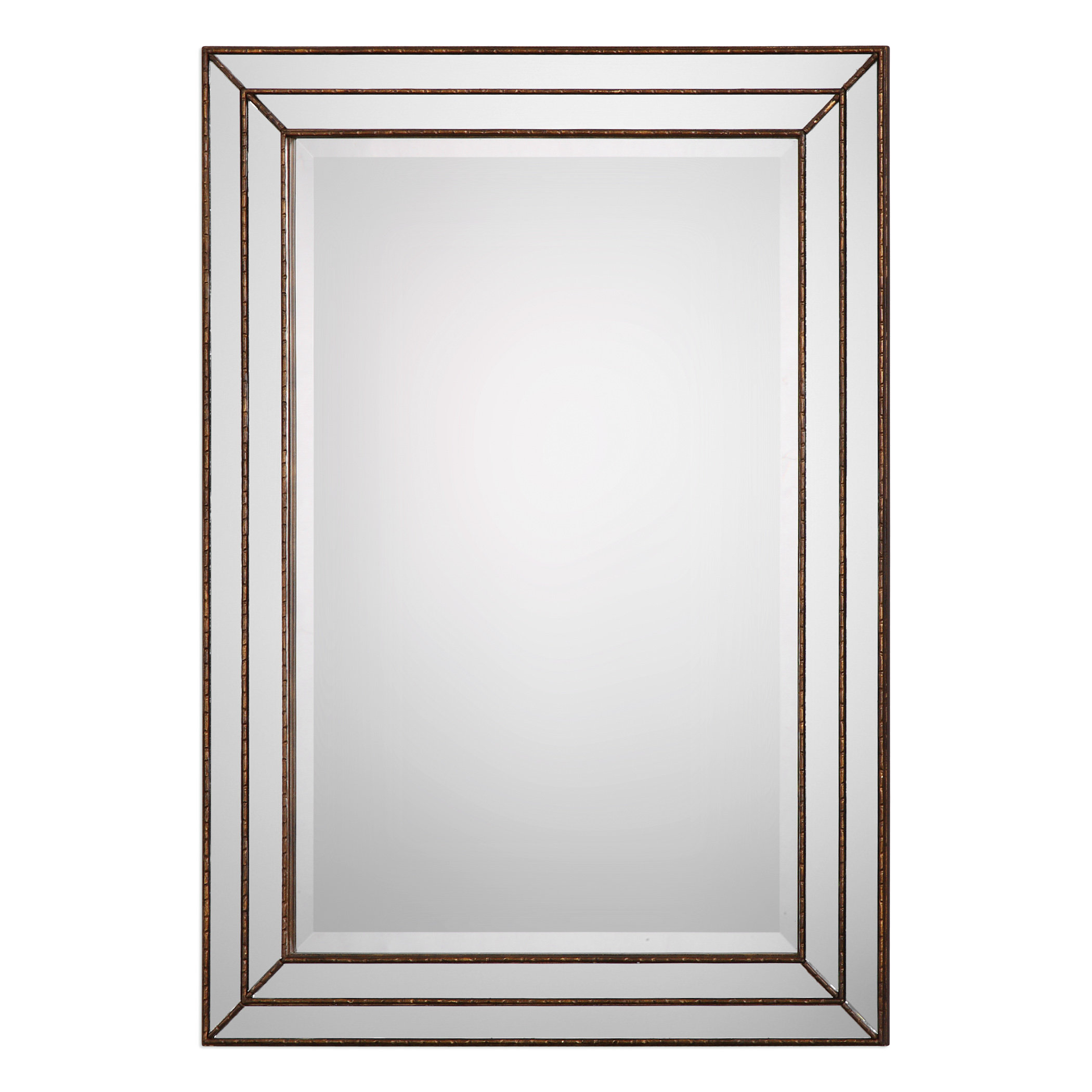 Willacoochee Traditional Beveled Accent Mirror & Reviews Intended For Northcutt Accent Mirrors (View 10 of 30)