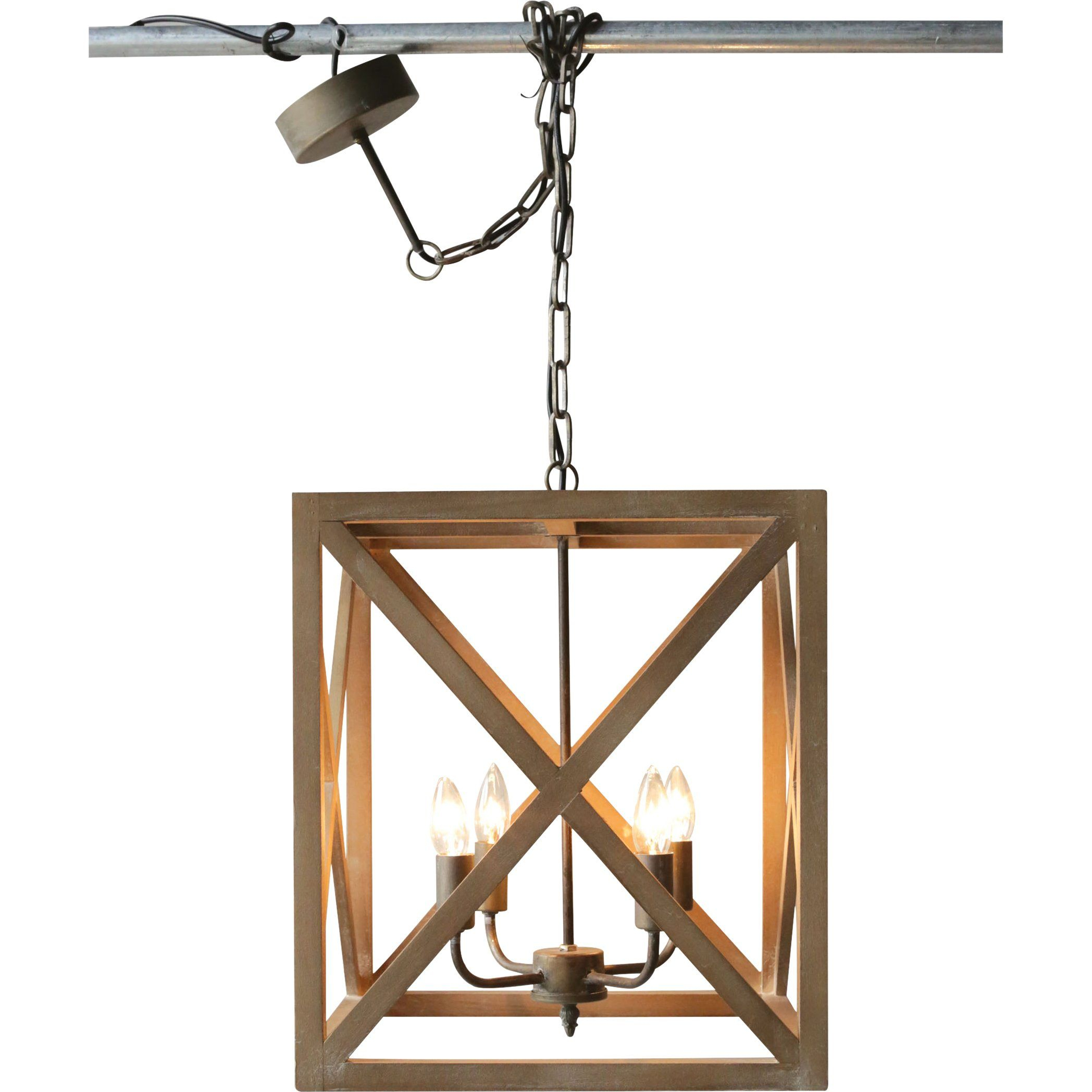 William 4 Light Square/rectangle Pendant | Kitchen | Pendant With Regard To William 4 Light Lantern Square / Rectangle Pendants (View 5 of 30)