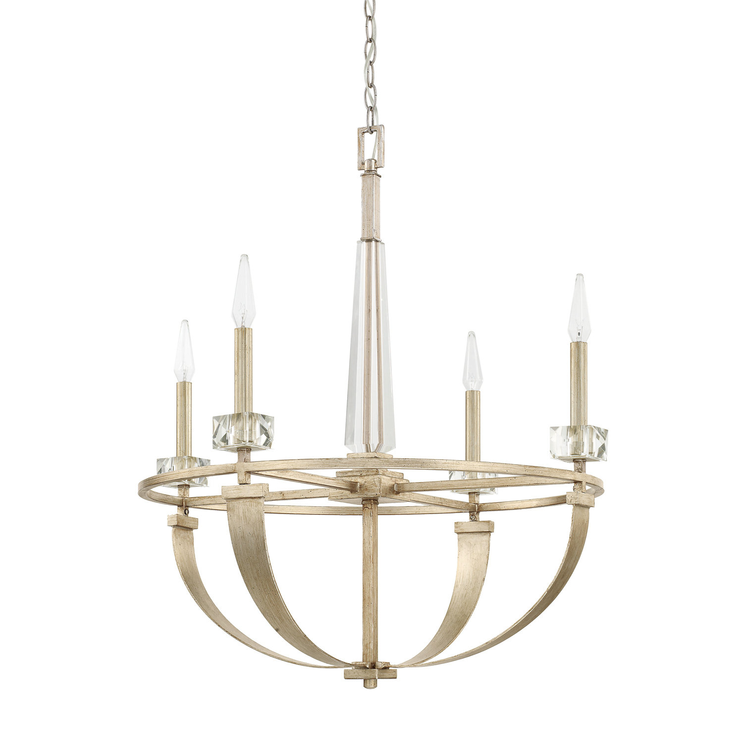Willington 4-Light Candle-Style Chandelier intended for Camilla 9-Light Candle Style Chandeliers (Image 28 of 30)