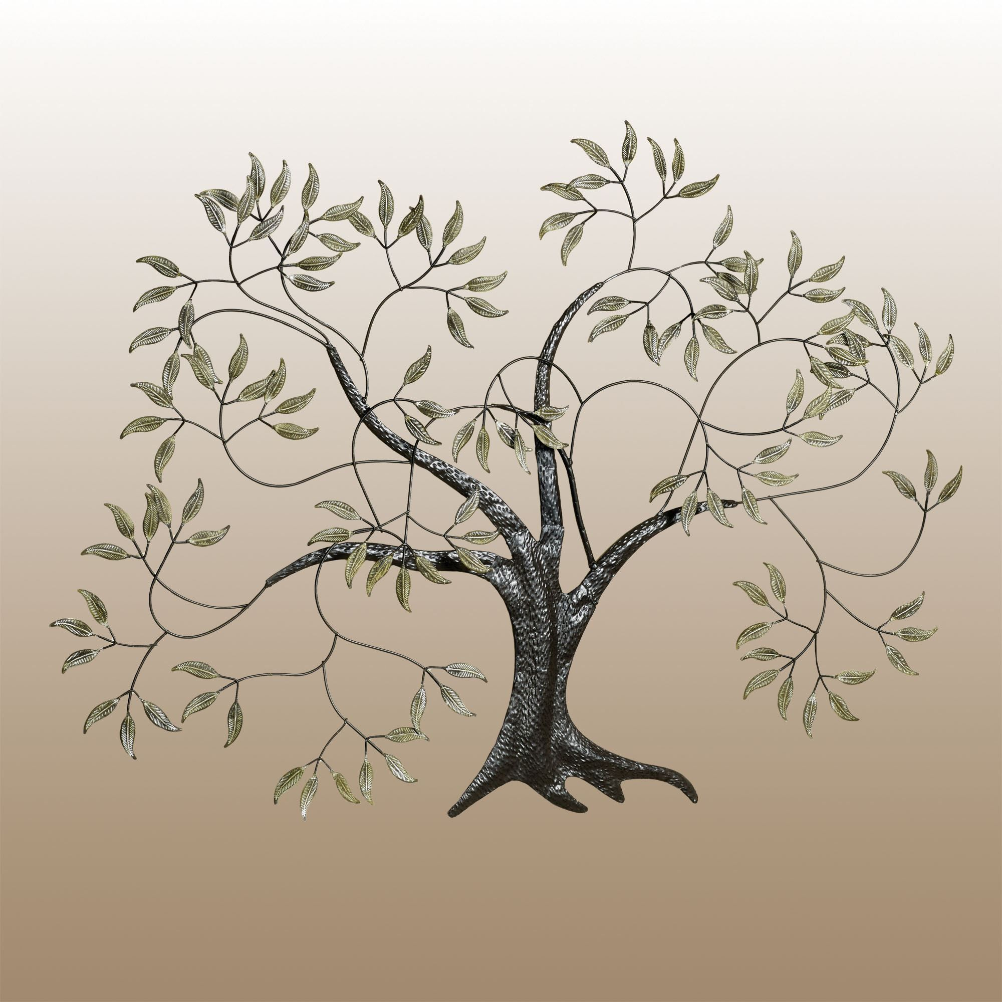 Willow Tree In The Wind Metal Wall Art | Cbts | Metal Wall For Windswept Tree Wall Decor By World Menagerie (View 9 of 30)