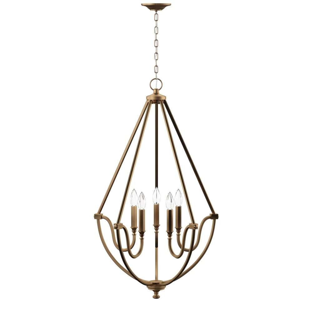 Wimborne 5-Light Candle Style Chandelier pertaining to Watford 9-Light Candle Style Chandeliers (Image 28 of 30)