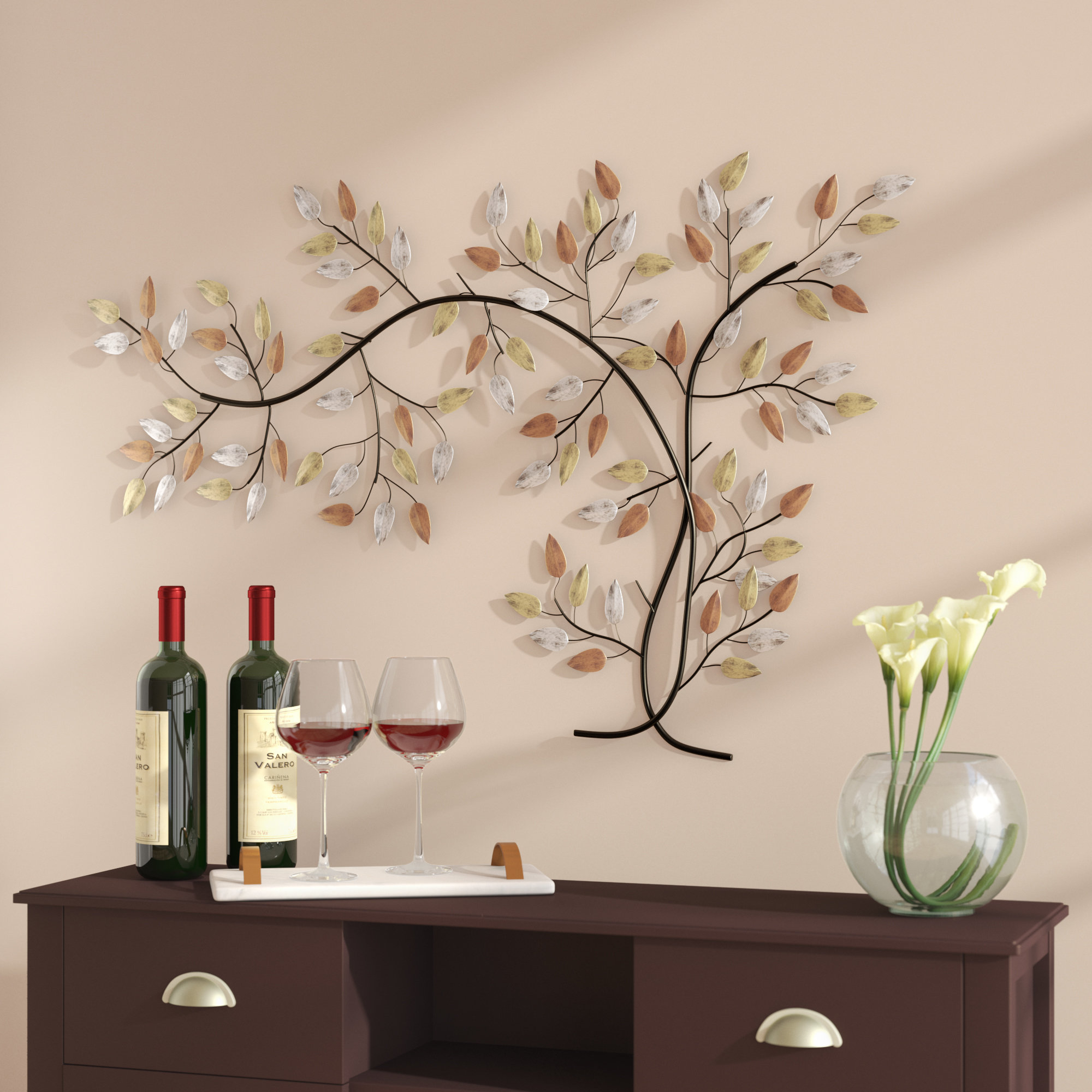 Windswept Tree Wall Decor | Wayfair Pertaining To Windswept Tree Wall Decor By World Menagerie (View 22 of 30)