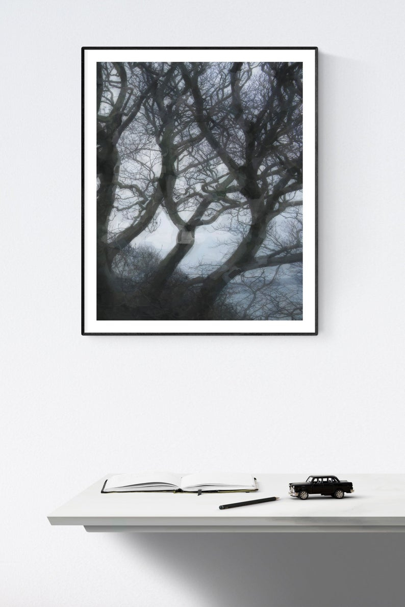 Windswept Trees : Printable Wall Art Throughout Windswept Tree Wall Decor (View 7 of 30)