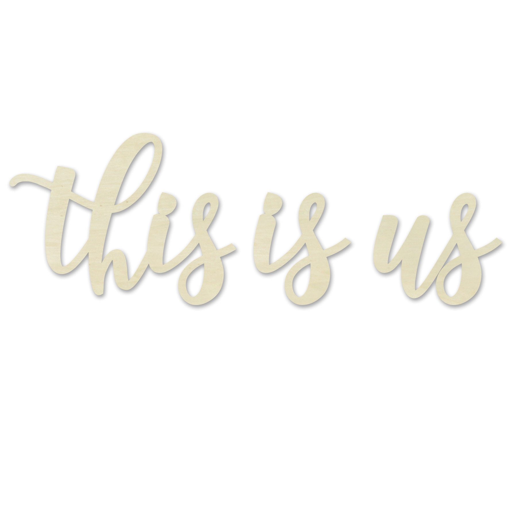 Winston Porter This Is Us Wall Décor & Reviews | Wayfair Within This Is Us Wall Decor (View 18 of 30)