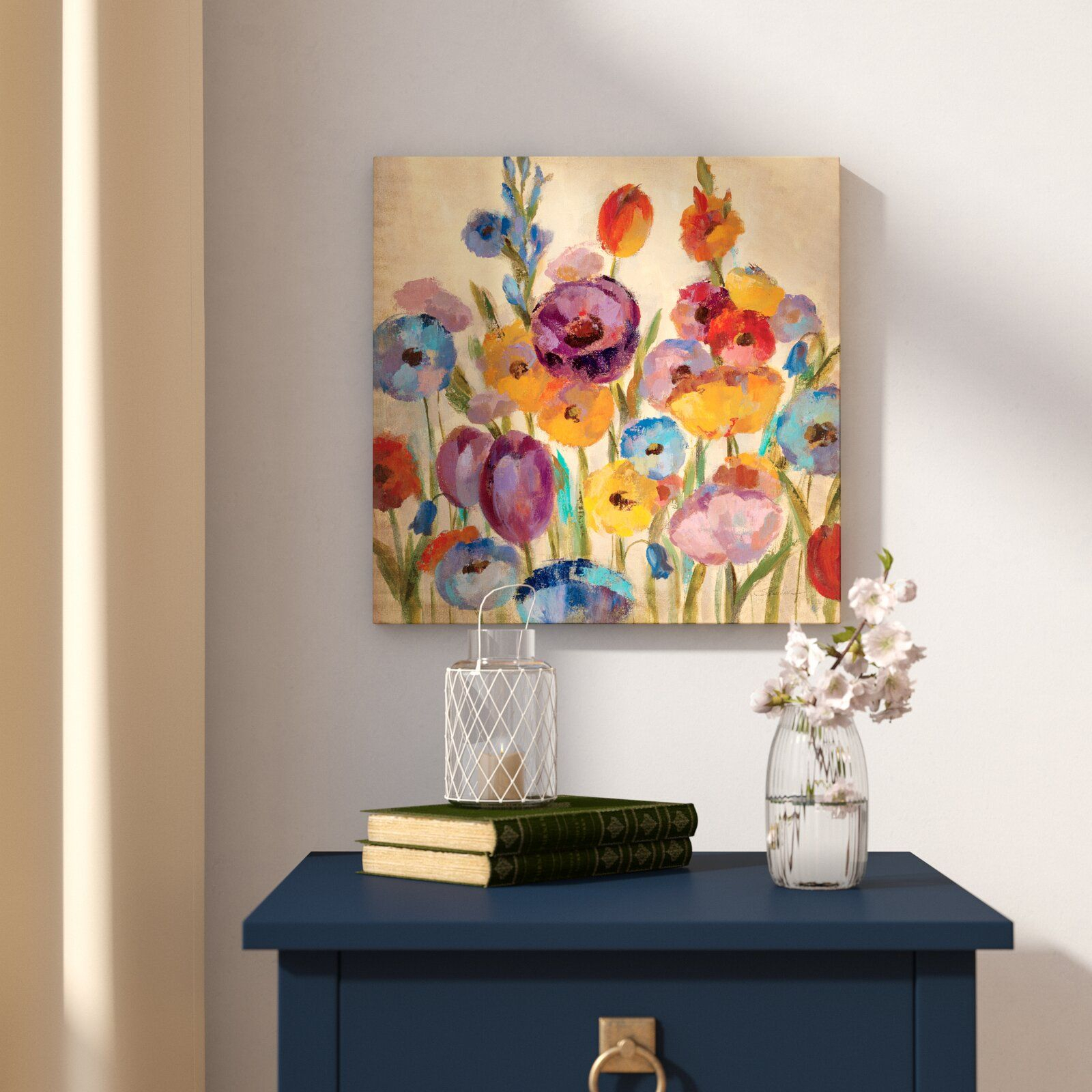 Winston Porter 'wild Flowers Iv' Painting Print On Wrapped with Metal Wall Decor by Winston Porter (Image 23 of 30)