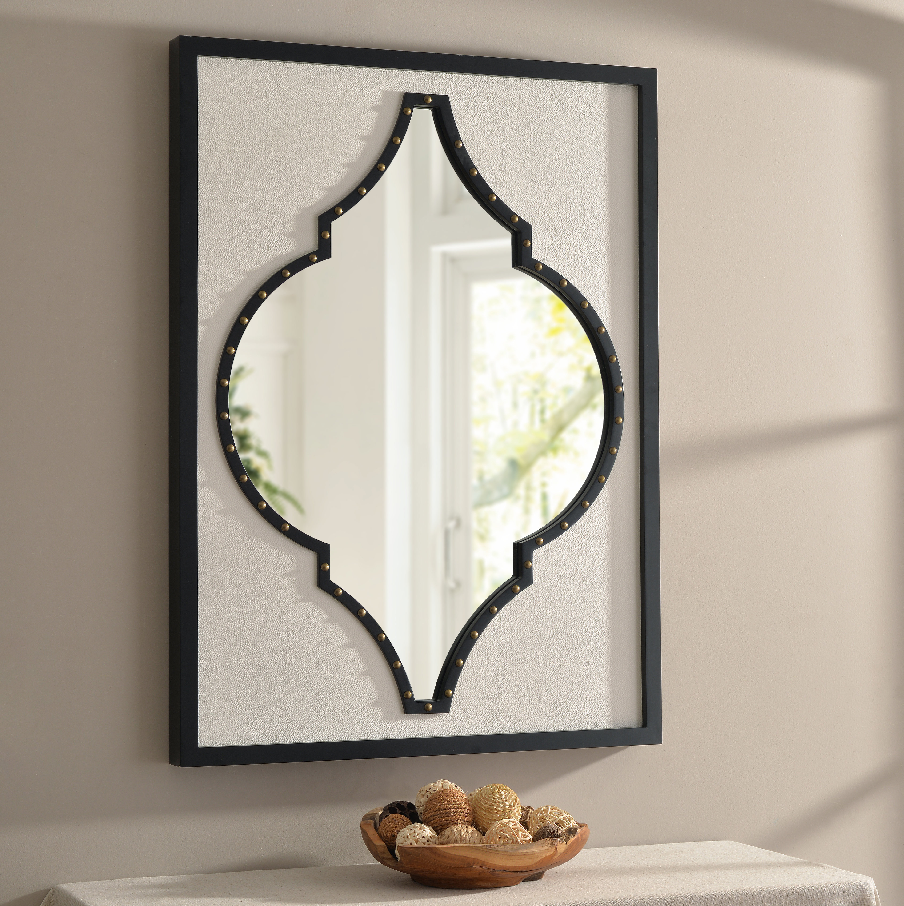 Woll Accent Mirror For Polito Cottage/country Wall Mirrors (Image 30 of 30)