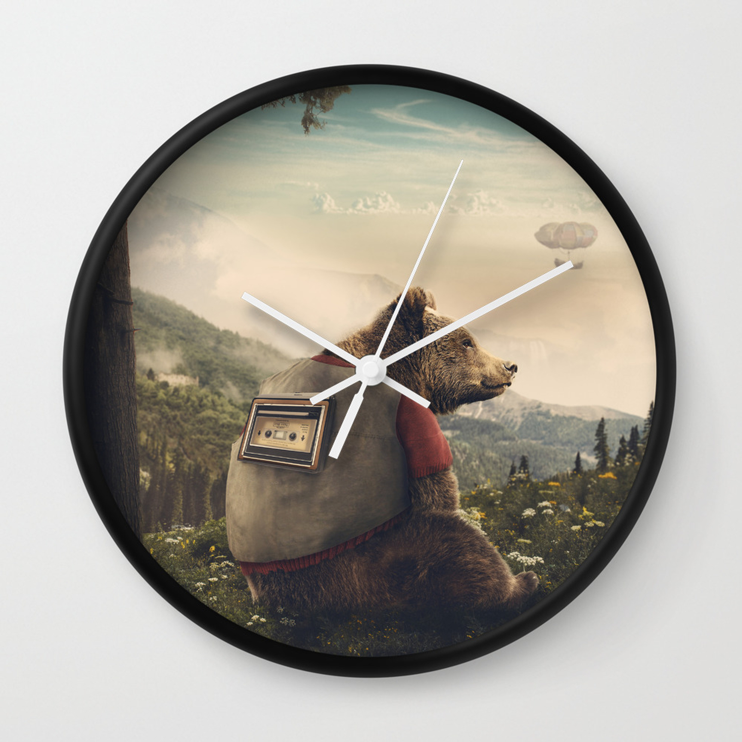 Wonderful World Of Teddy Wall Clock with regard to Wonderful World Wall Decor (Image 27 of 30)