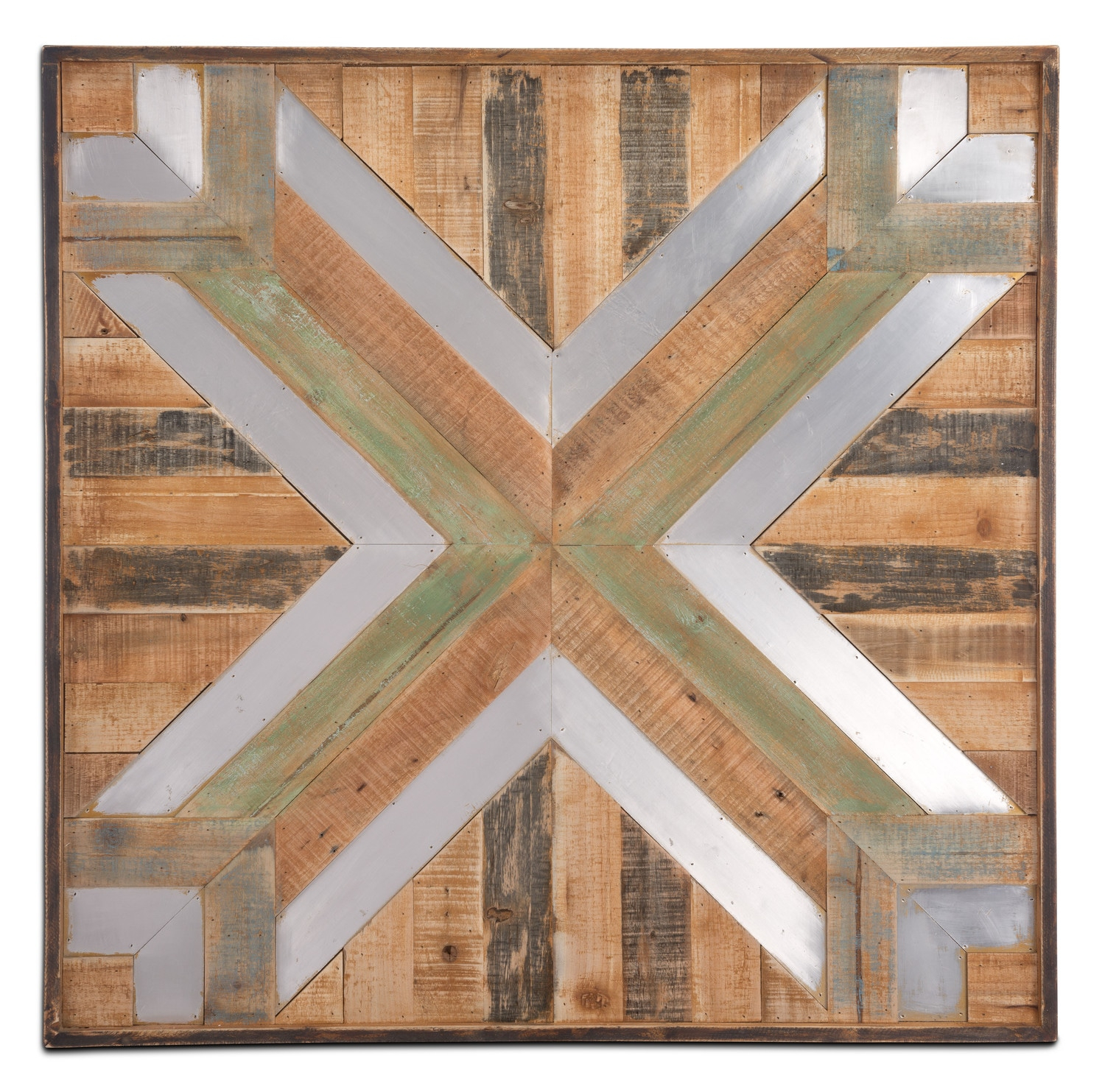 Wood And Metal Wall Decor - Brown with Brown Wood And Metal Wall Decor (Image 22 of 30)