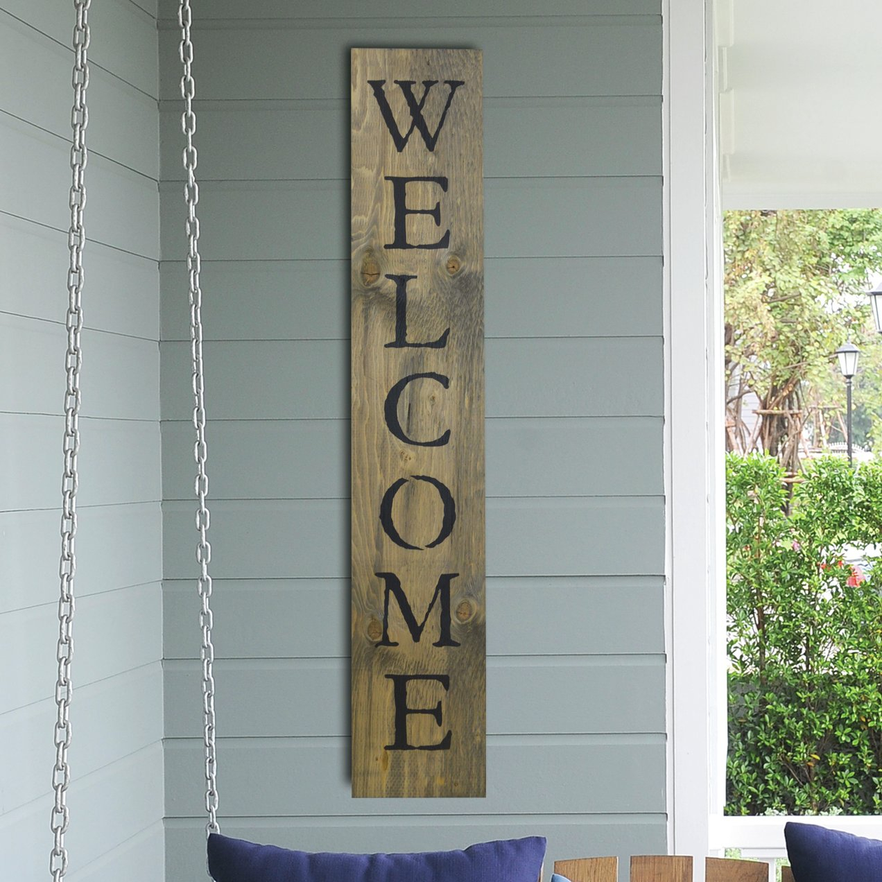 "Wood Door Wall Decor | Wayfair throughout In-a-Word ""welcome"" Wall Decor by Fireside Home (Image 29 of 30)"