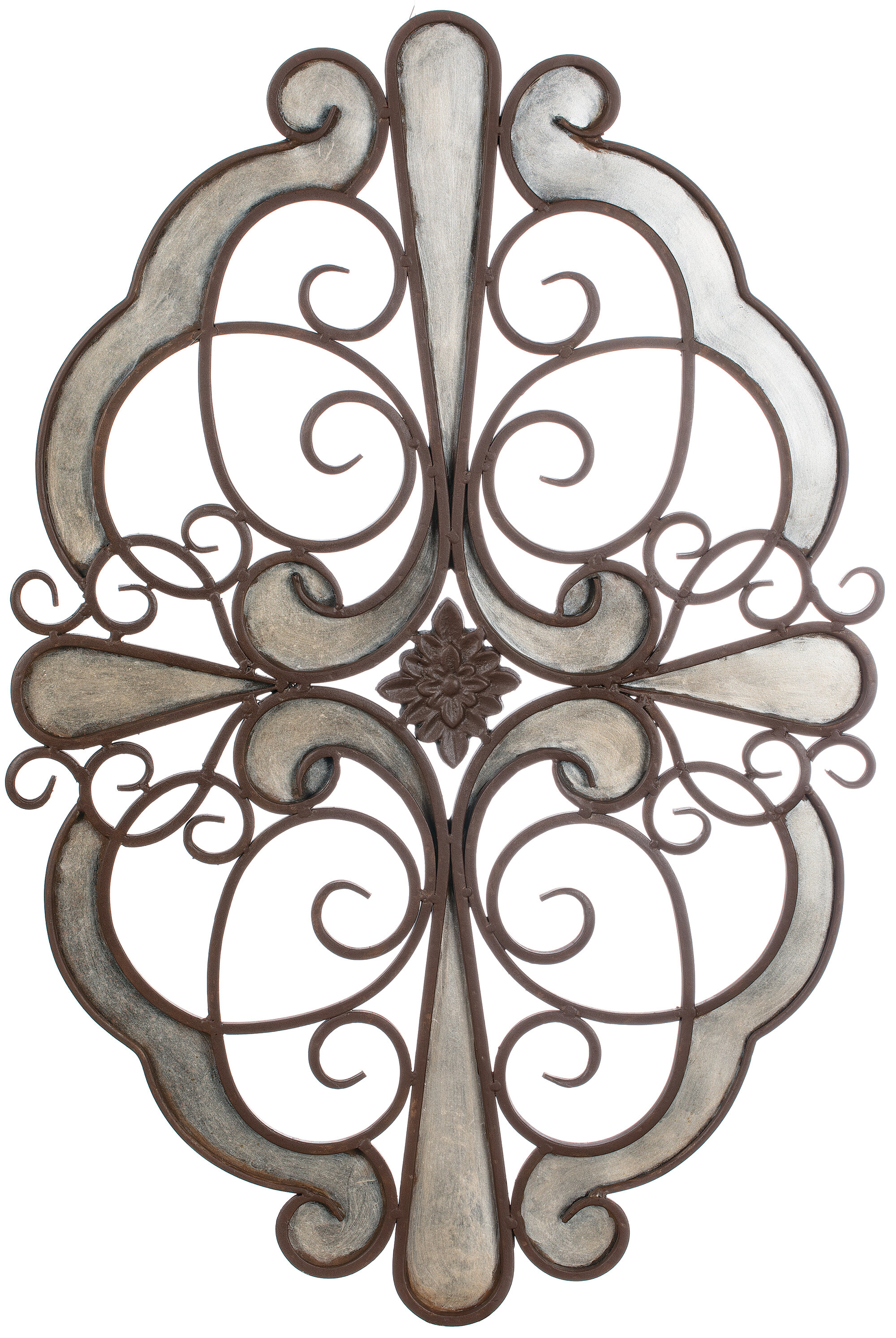 Wood Medallion Wall Decor | Wayfair with Small Medallion Wall Decor (Image 29 of 30)