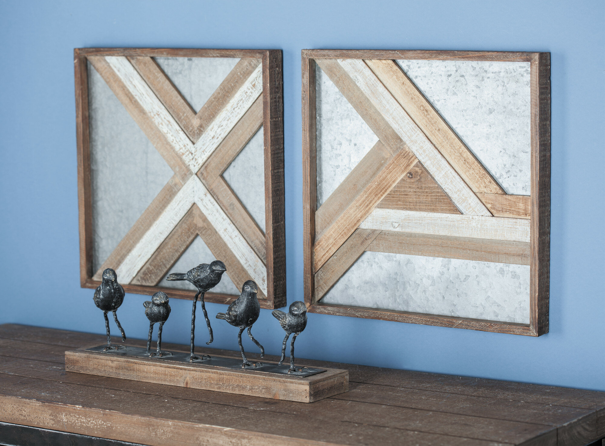 Wood/metal Wall Décor in Metal Wall Decor By Cosmoliving (Image 30 of 30)
