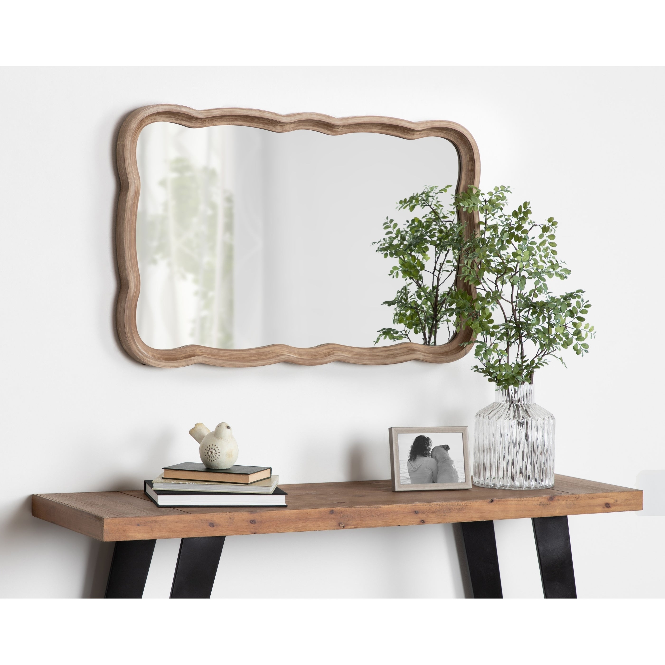 Wood Mirrors | Shop Online At Overstock with Longwood Rustic Beveled Accent Mirrors (Image 29 of 30)