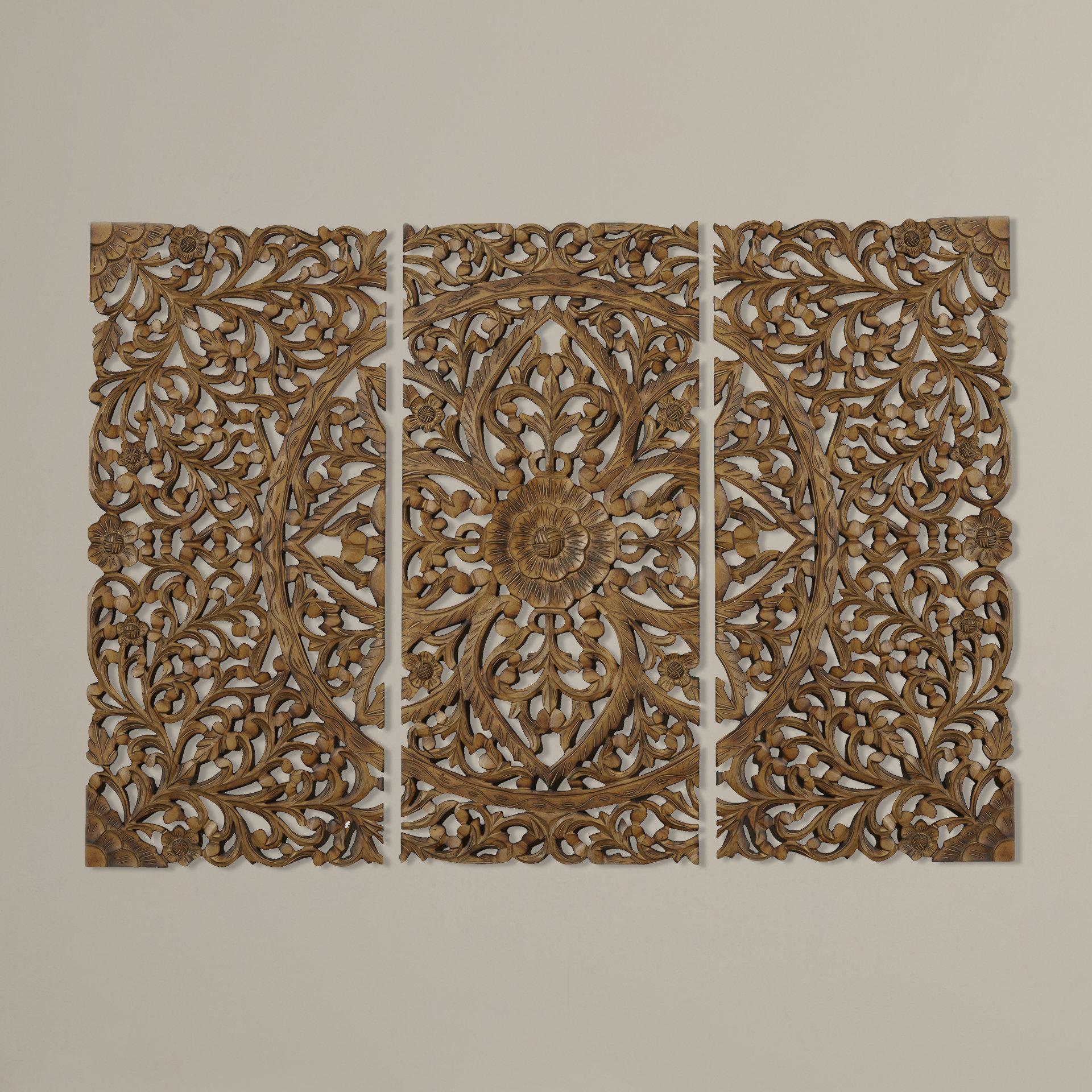 Wood Wall Art You'll Love In 2019 | Wayfair Regarding Panel Wood Wall Decor Sets (set Of 2) (View 9 of 30)