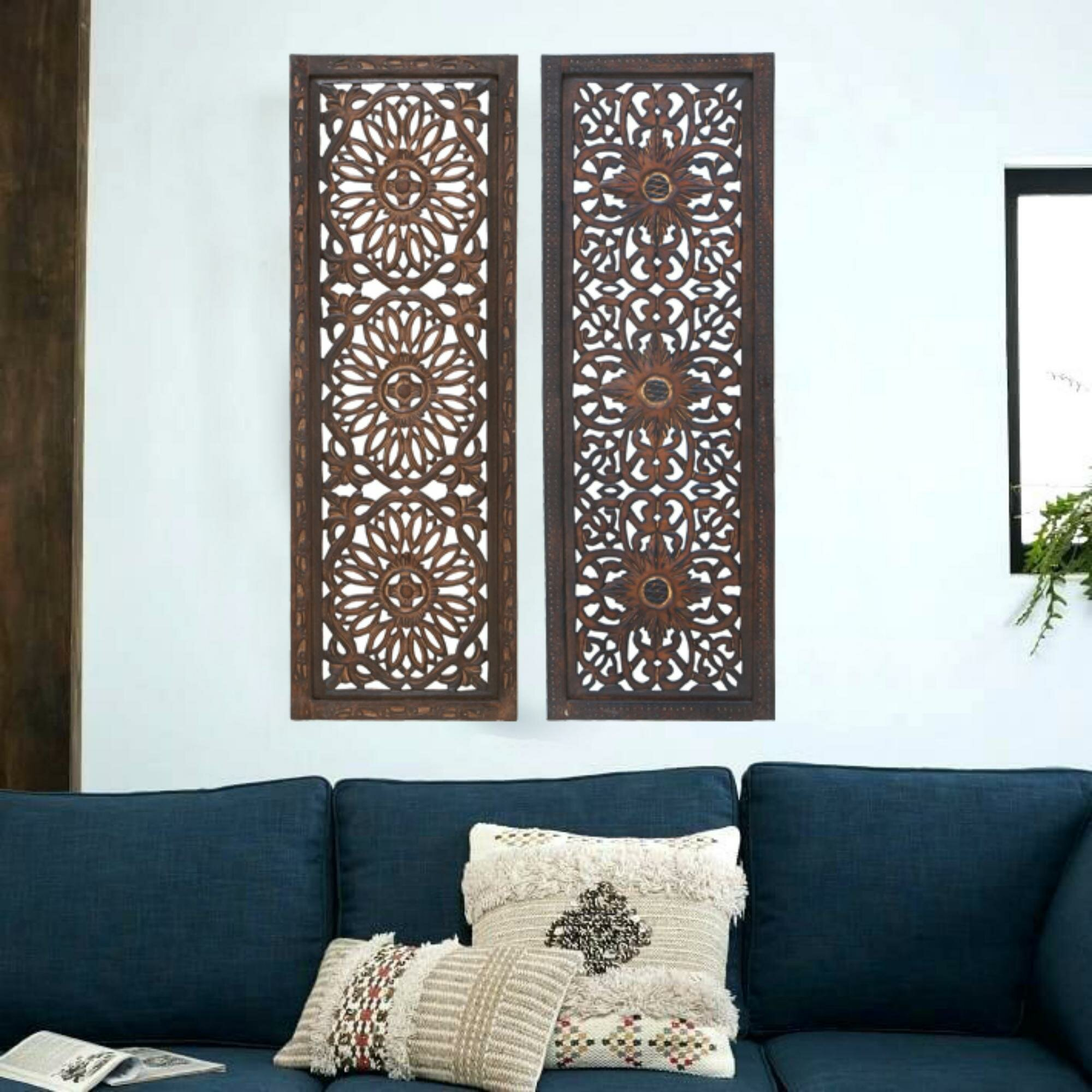 Wood Wall Art You'll Love In 2019 | Wayfair With Panel Wood Wall Decor Sets (set Of 2) (View 15 of 30)