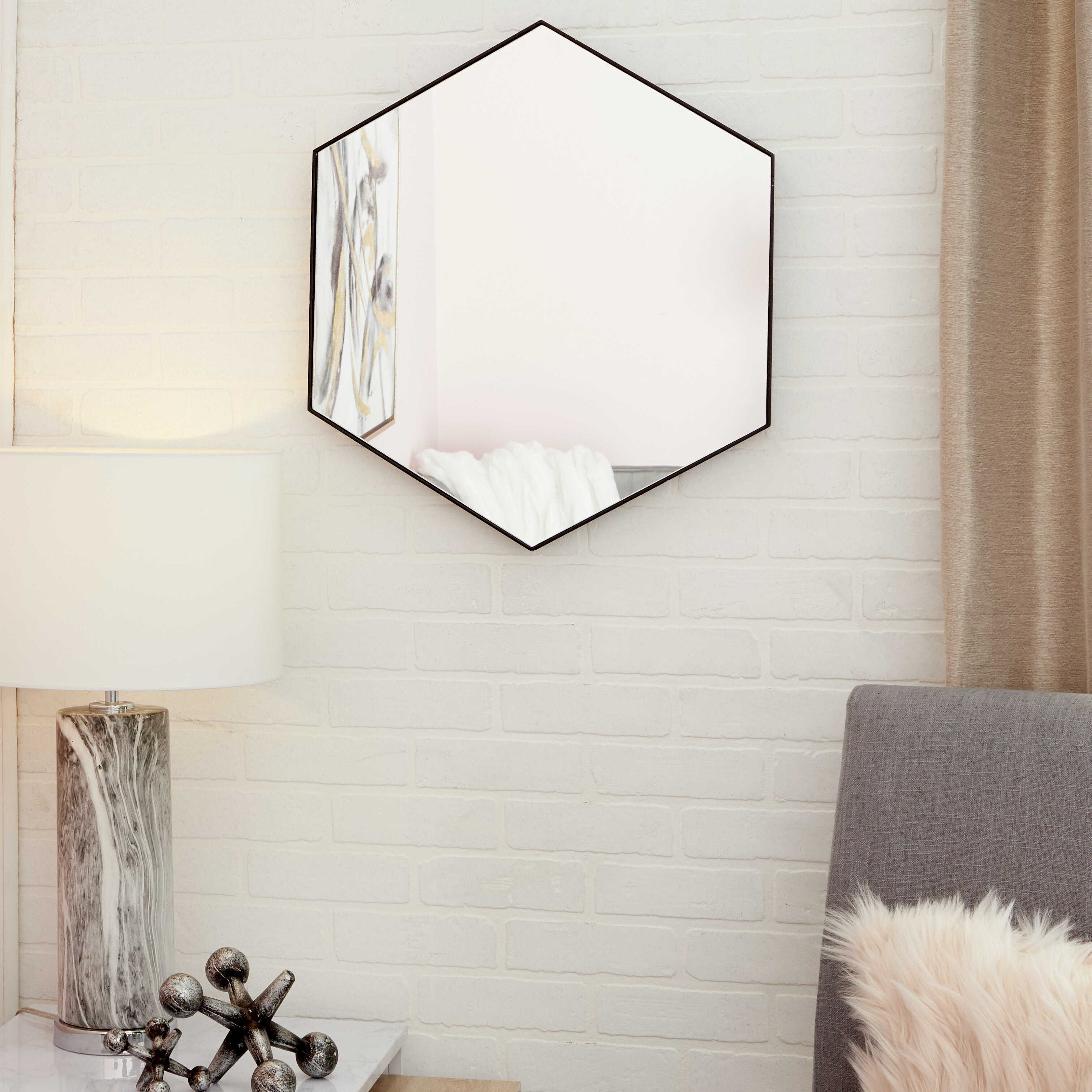 Wood Wall Mirror for Swagger Accent Wall Mirrors (Image 29 of 30)