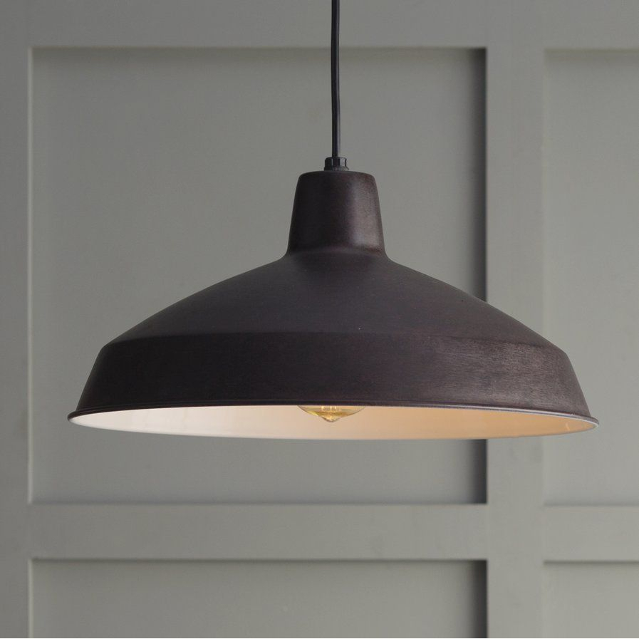 Woodsen 1-Light Inverted Pendant | New House | Pendant inside Conover 1-Light Dome Pendants (Image 30 of 30)