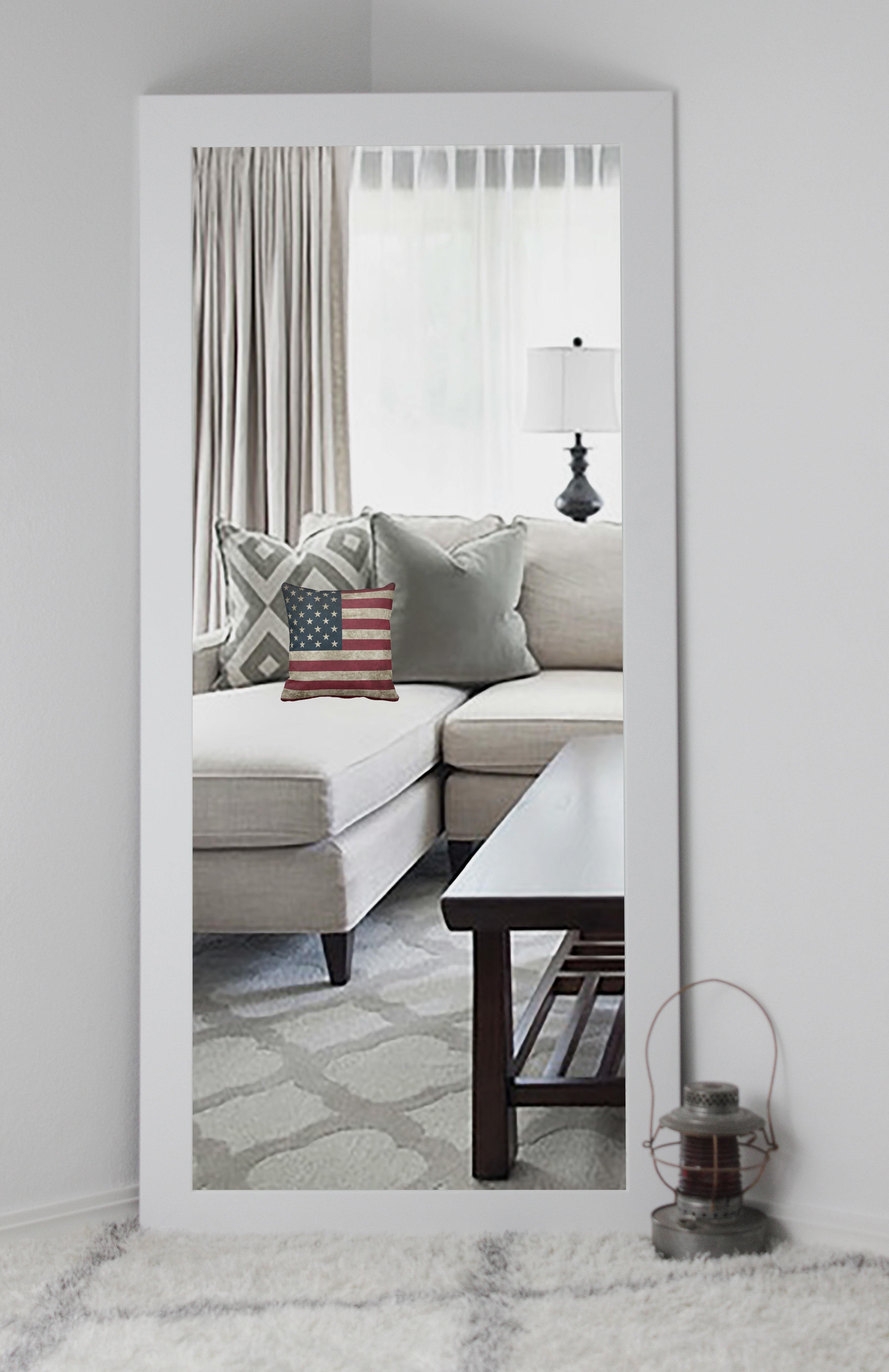 Worceer Modern & Contemporary Full Length Mirror Inside Modern & Contemporary Full Length Mirrors (View 21 of 30)
