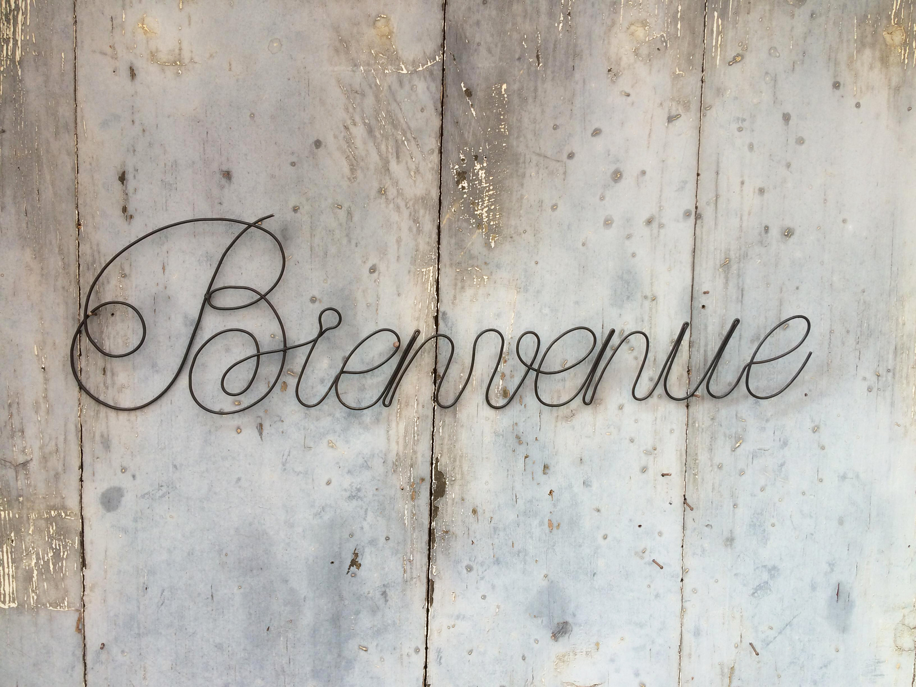 """Word """"welcome"""" In Annealed Wire, Message, Phrase, Writing, Quotation,  Annealed Wire Sculpture, Wall Decoration, Plaque in In-A-Word """"welcome"""" Wall Decor (Image 30 of 30)"""