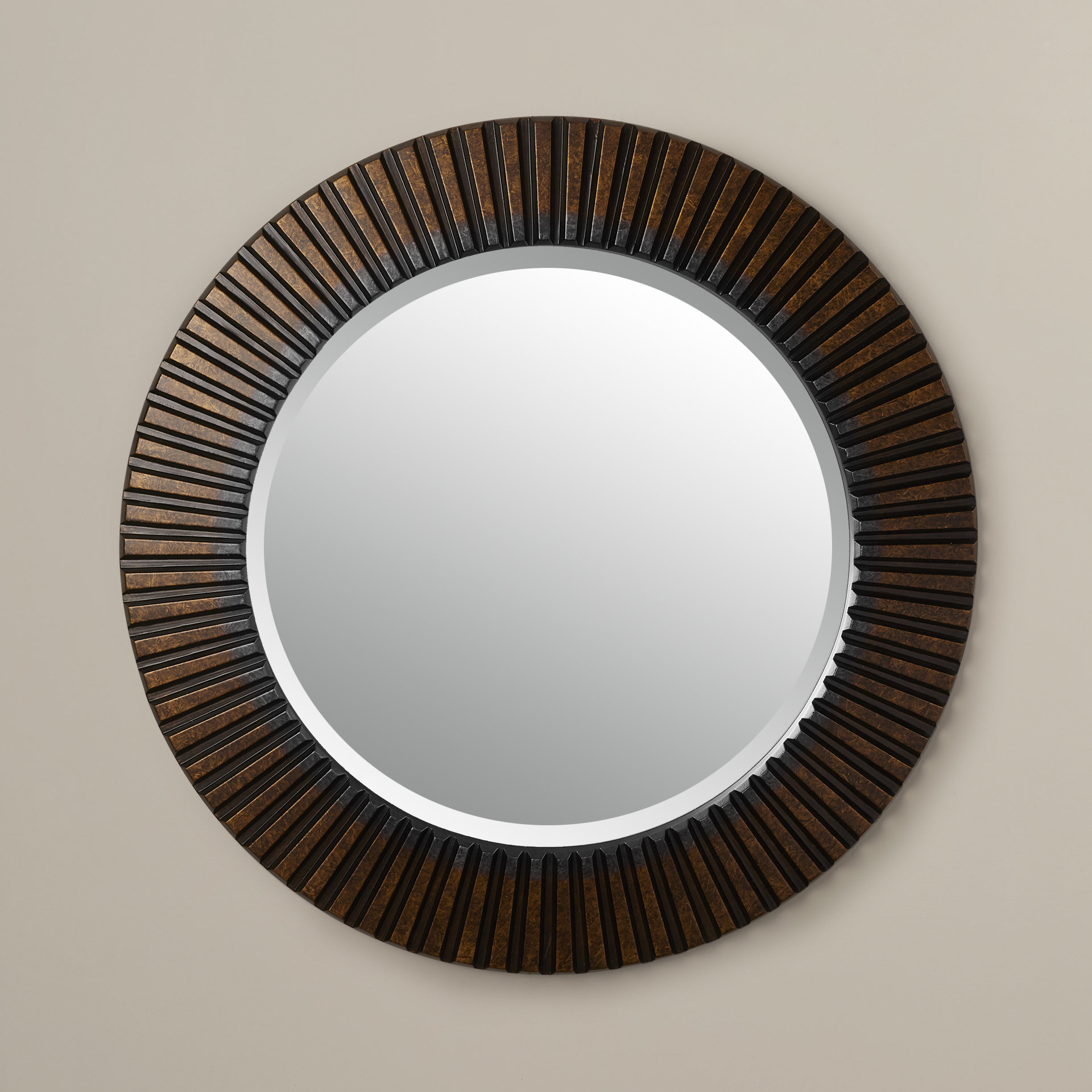 World Menagerie Round Eclectic Accent Mirror In Round Eclectic Accent Mirrors (View 4 of 30)