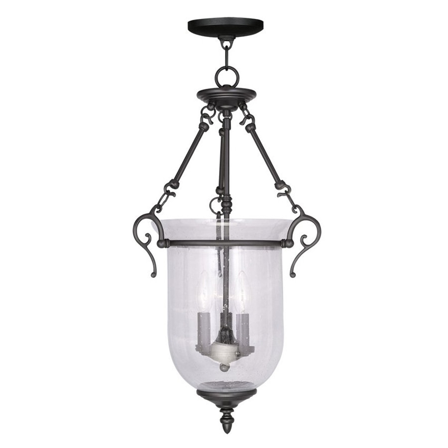 Write A Review About Livex Lighting Legacy Black Traditional intended for 3-Light Single Urn Pendants (Image 30 of 30)