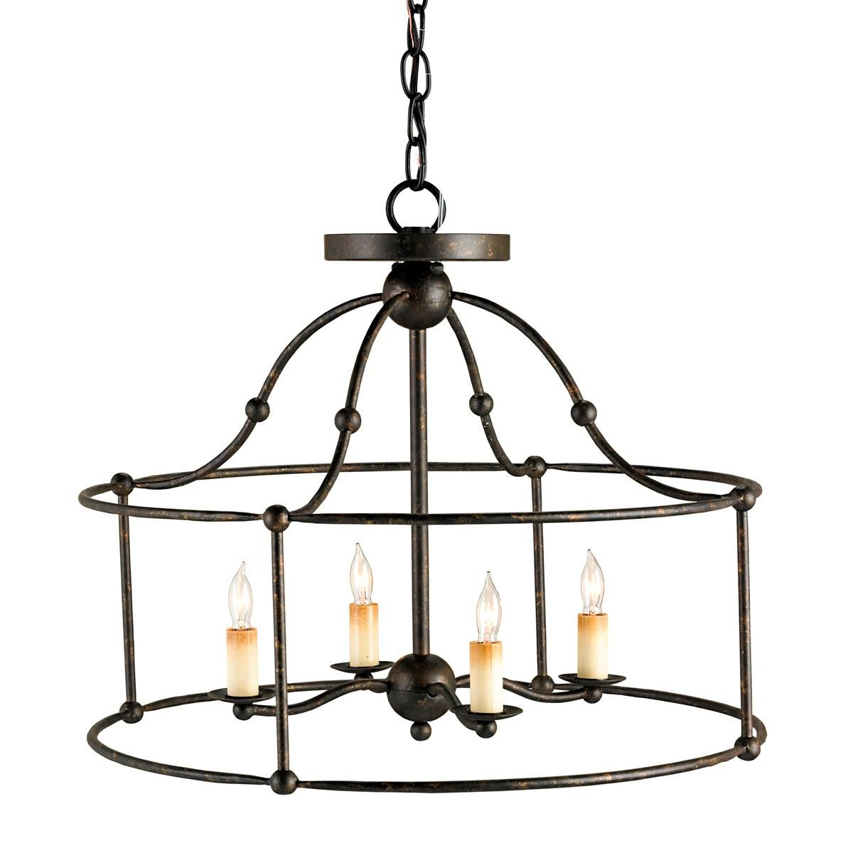 Wrought Iron Convertible Lantern | Why Didn't I Think Of With Millbrook 5 Light Shaded Chandeliers (View 19 of 30)
