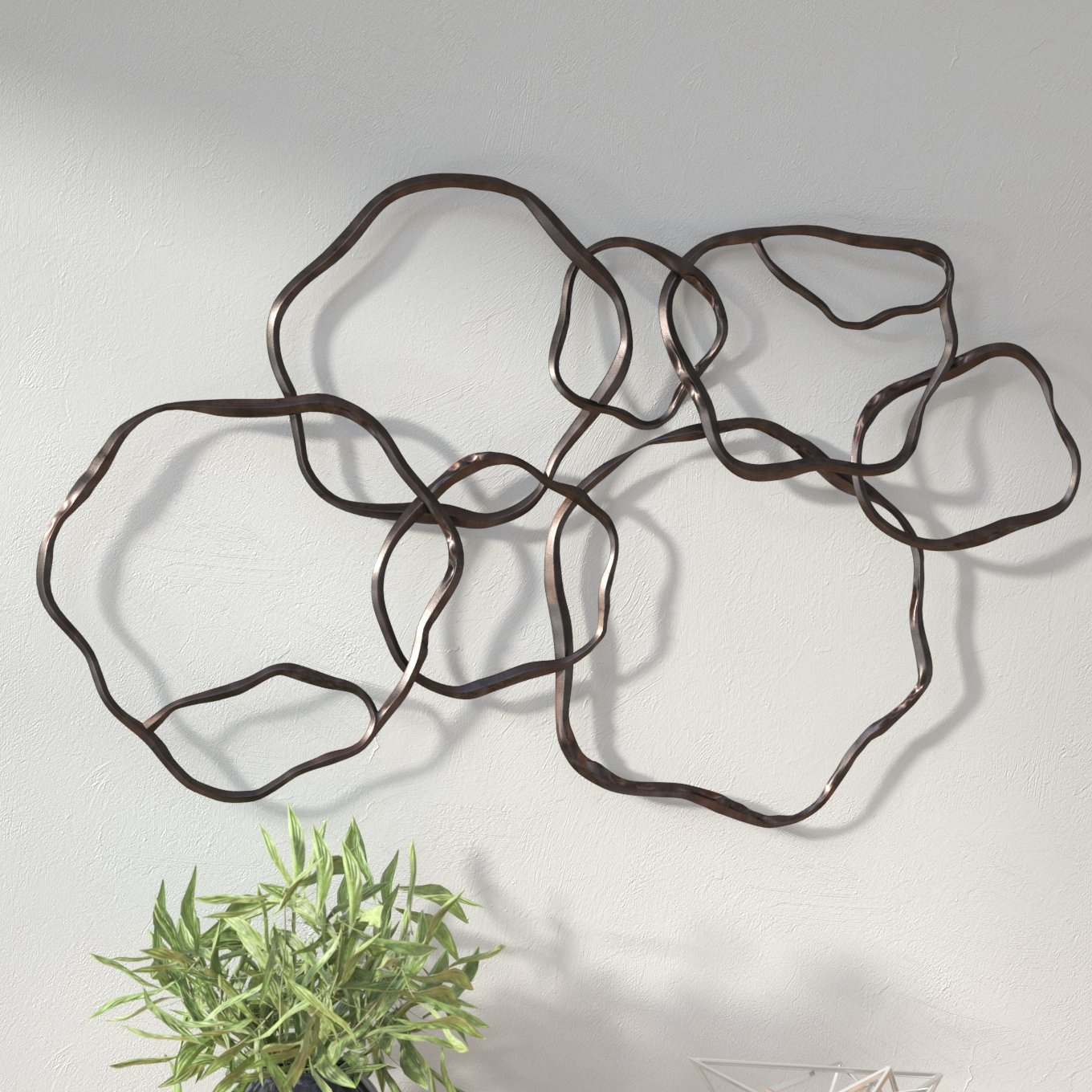 Wrought Studio Rings Wall Décor & Reviews | Wayfair Throughout Rings Wall Decor By Wrought Studio (View 6 of 30)