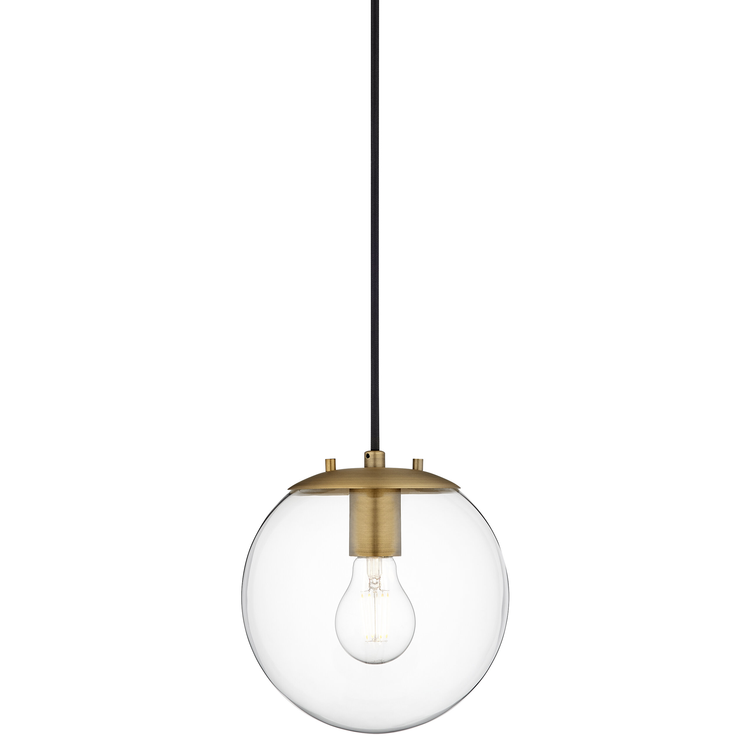 Wysocki 1 Light Single Globe Pendant Regarding Cayden 1 Light Single Globe Pendants (View 30 of 30)