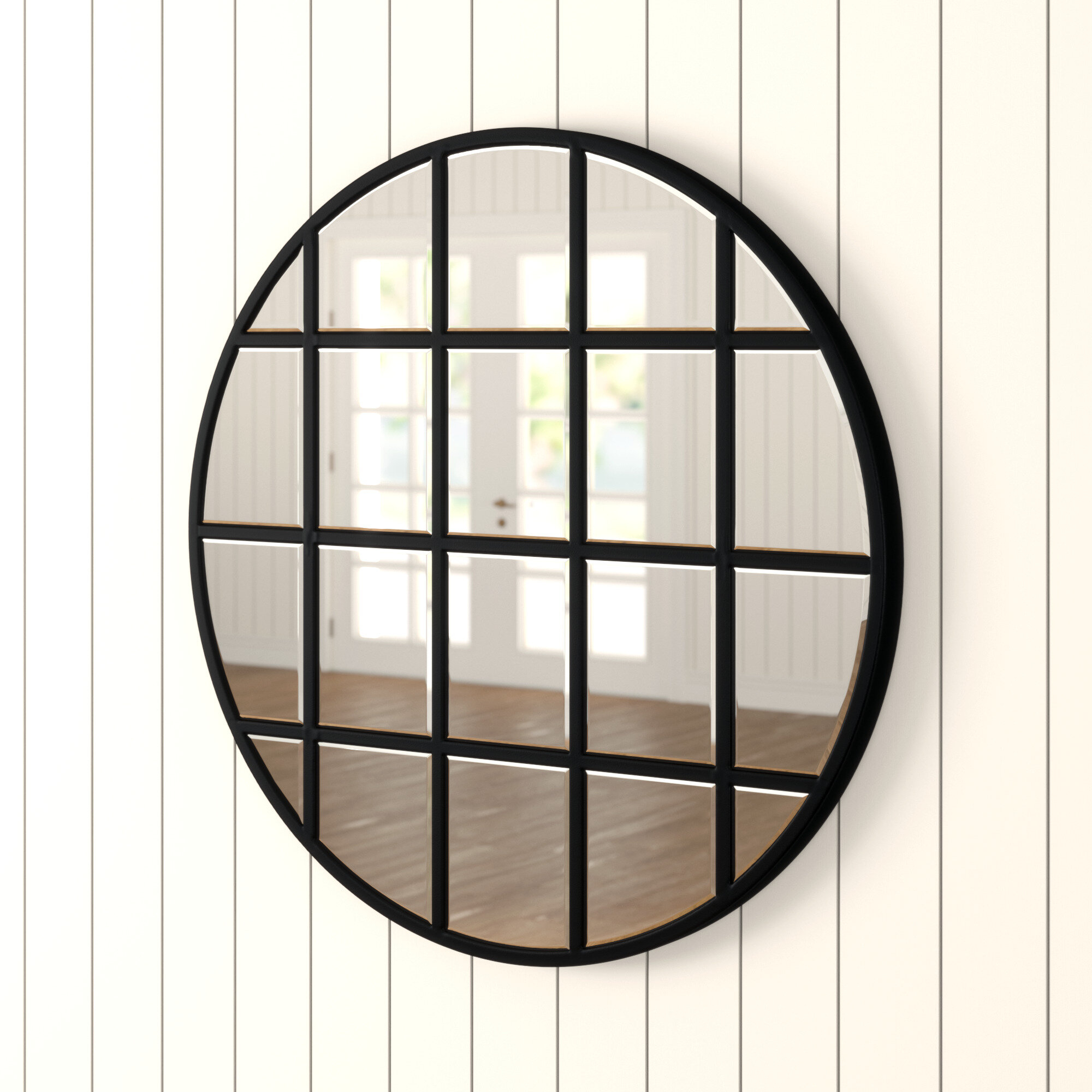 Yatendra Cottage/country Beveled Accent Mirror Within Austin Industrial Accent Mirrors (View 14 of 30)