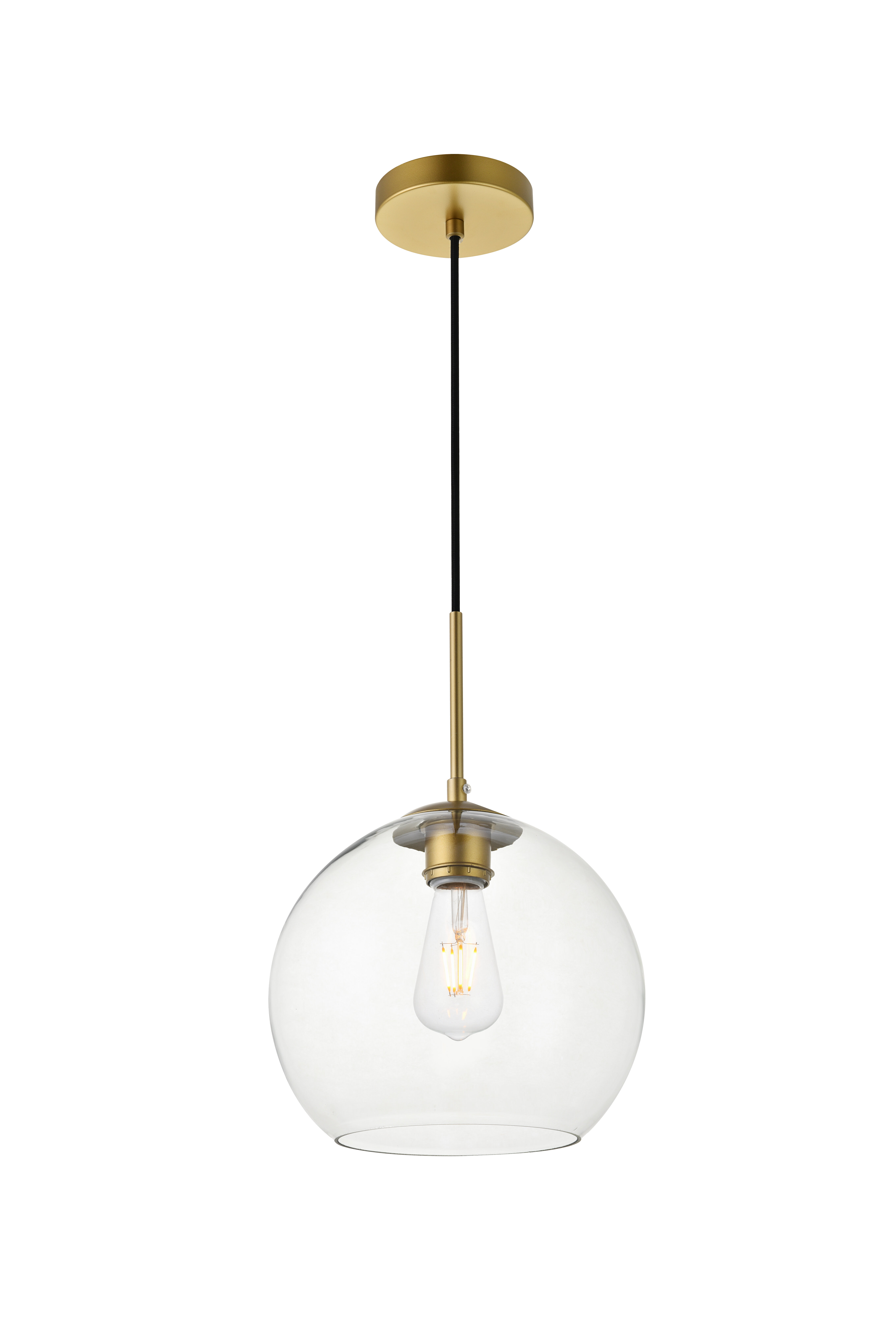 Yearwood 1 Light Single Globe Pendant Within Neal 1 Light Single Teardrop Pendants (View 20 of 30)