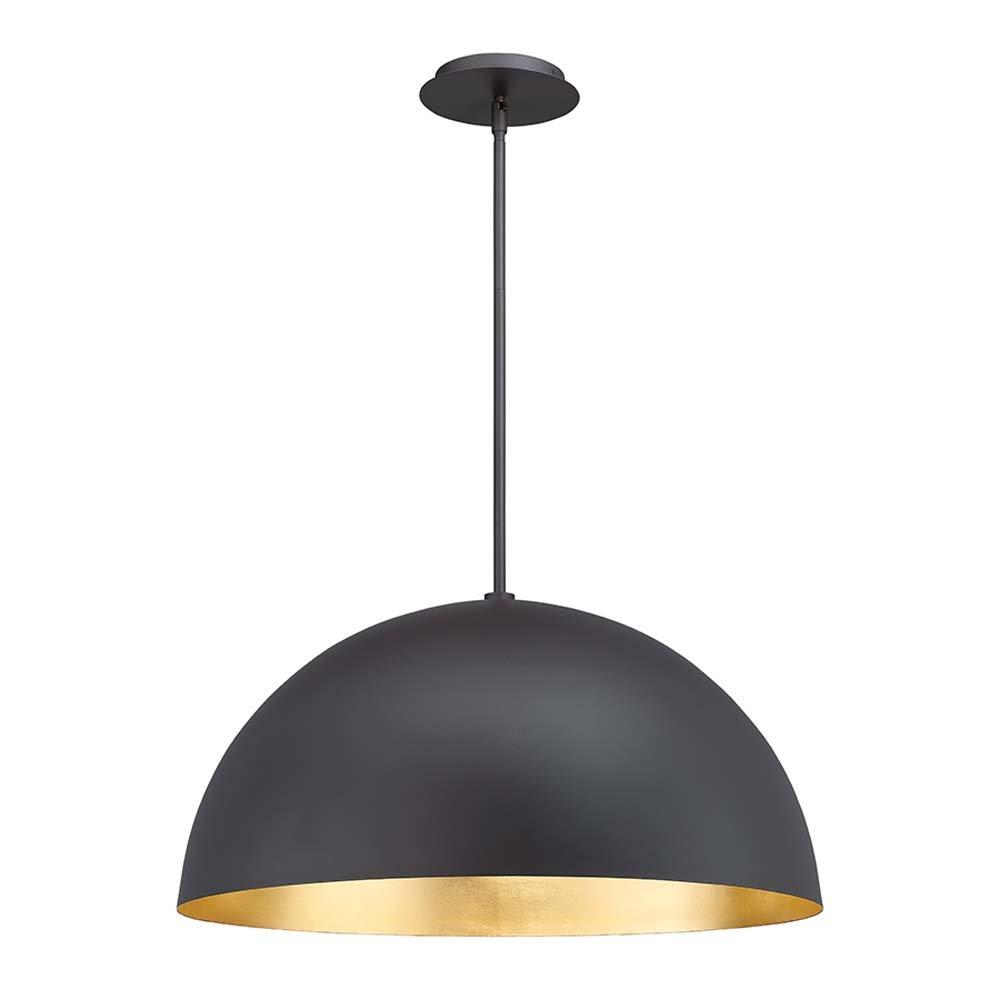 Yolo 1-Light Led Single Dome Pendant for Macon 1-Light Single Dome Pendants (Image 30 of 30)