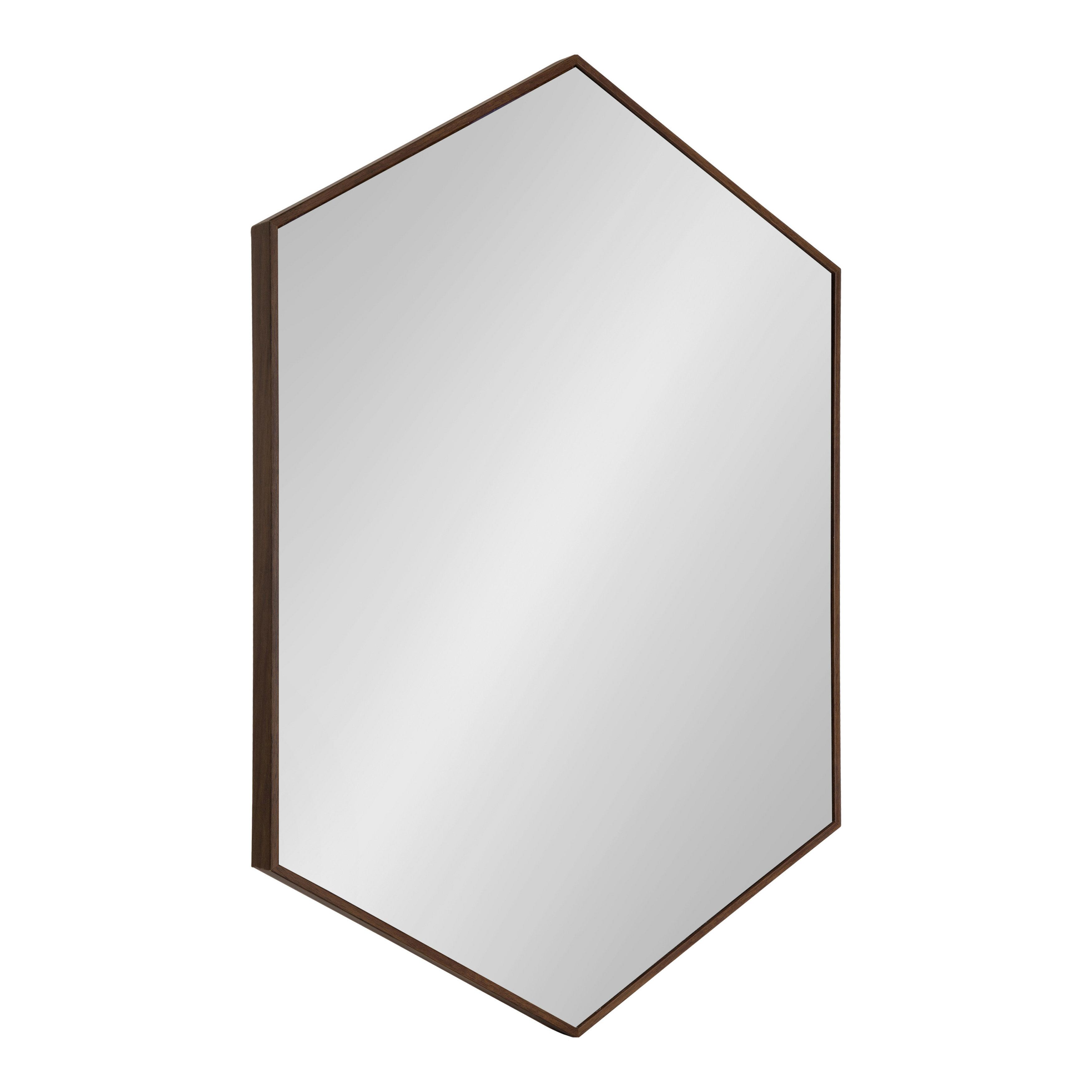 Zaliki Mid Century Hexagon Accent Mirror & Reviews | Allmodern With Northcutt Accent Mirrors (View 20 of 30)