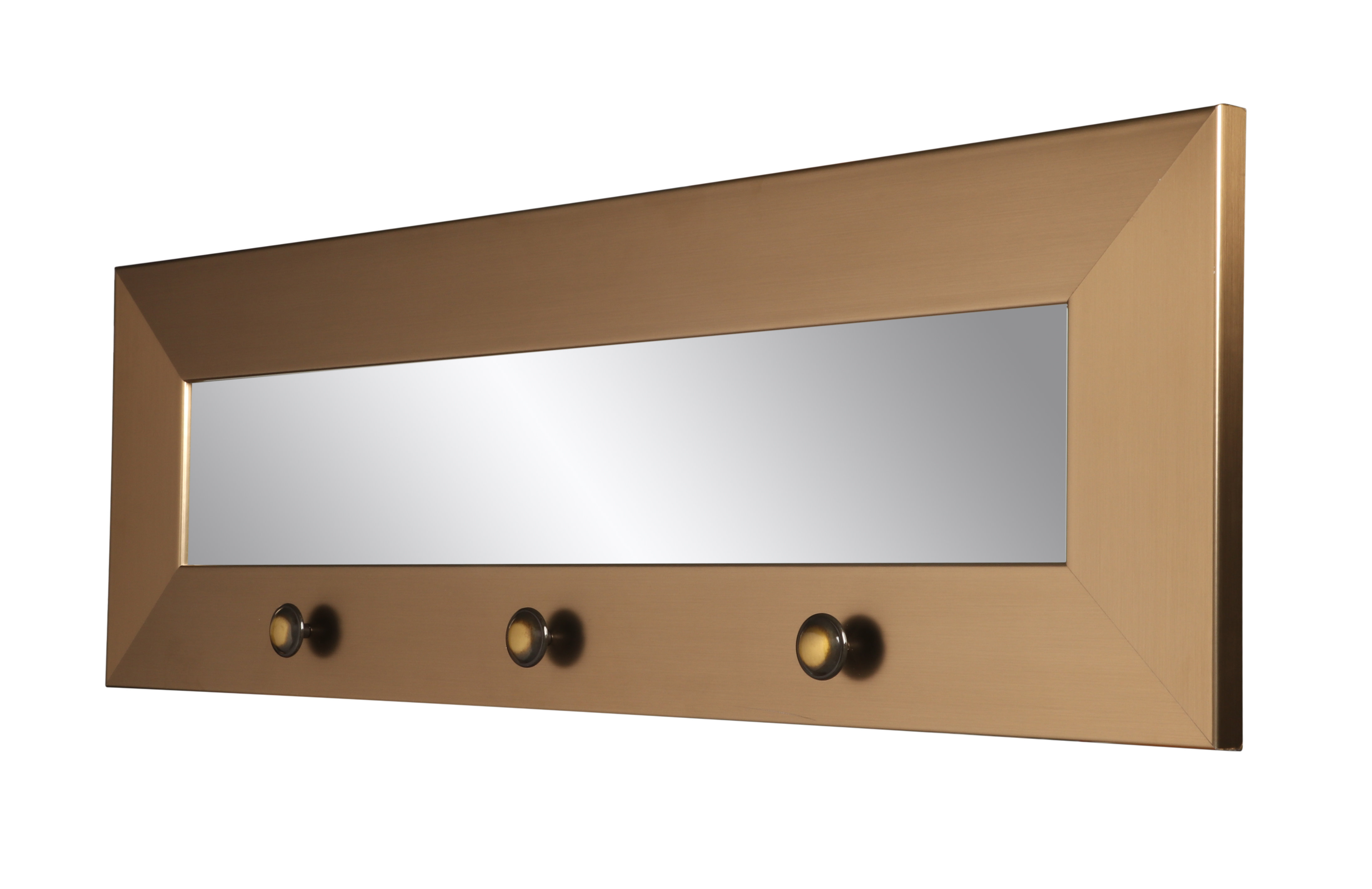 Zavier Hook Board Accent Mirror pertaining to Rena Accent Mirrors (Image 30 of 30)