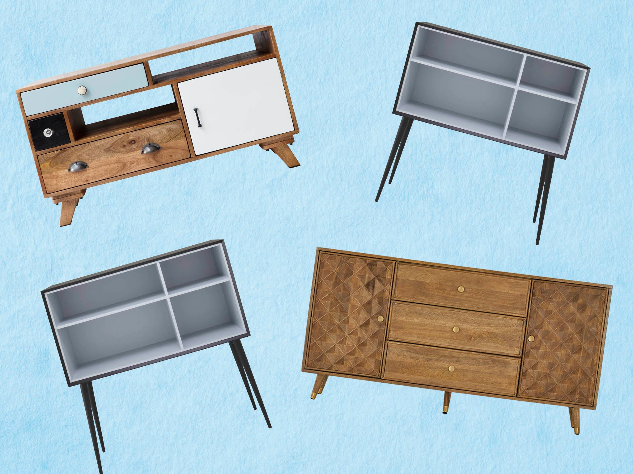 10 Best Sideboards | The Independent Inside Mid Century Retro Modern Oak And Espresso Wood Buffets (Photo 9 of 30)