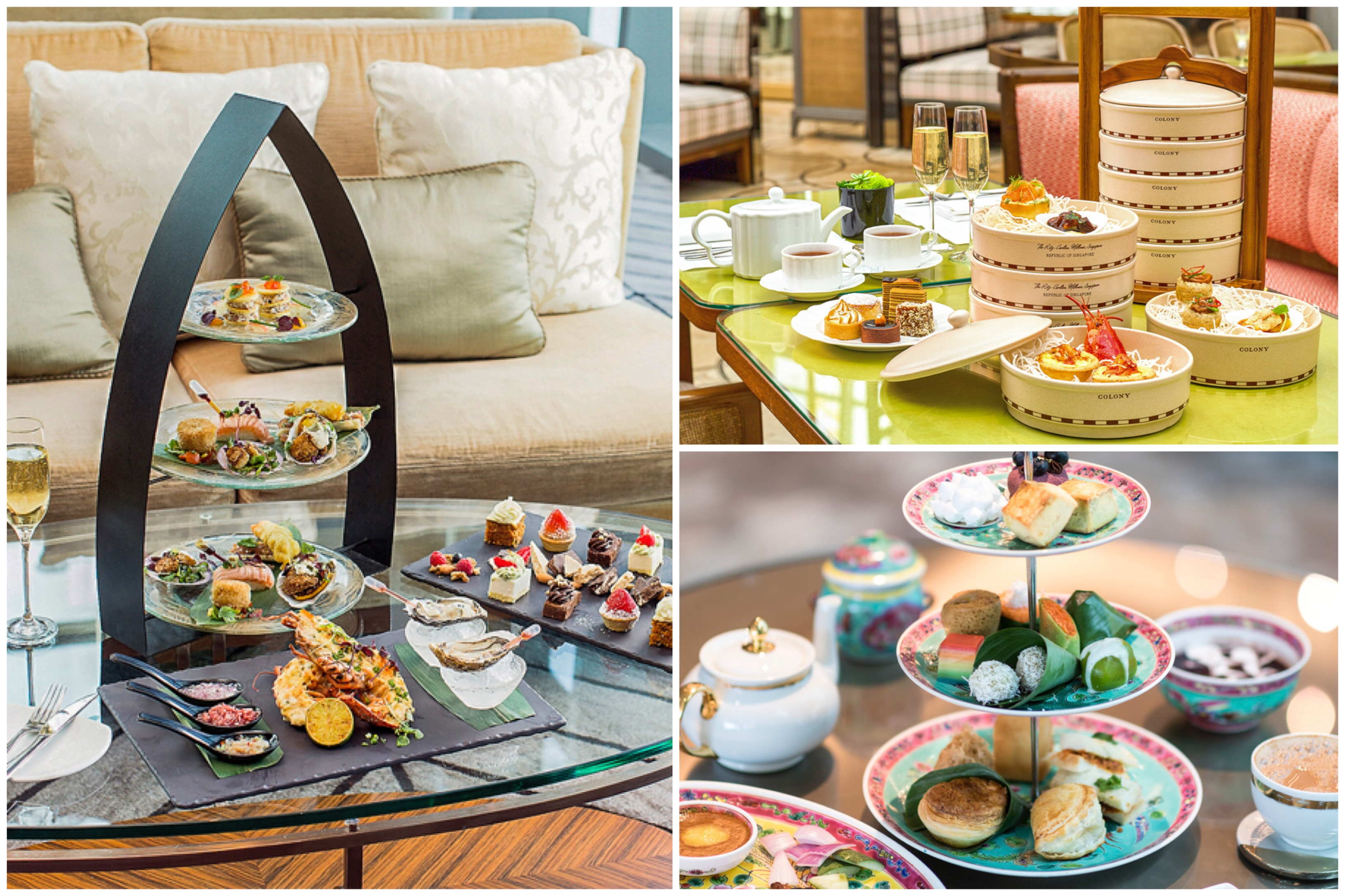11 Best High Tea Places In Singapore, Some With 1 For 1 In Medium Buffets With Wood Top (Gallery 26 of 30)
