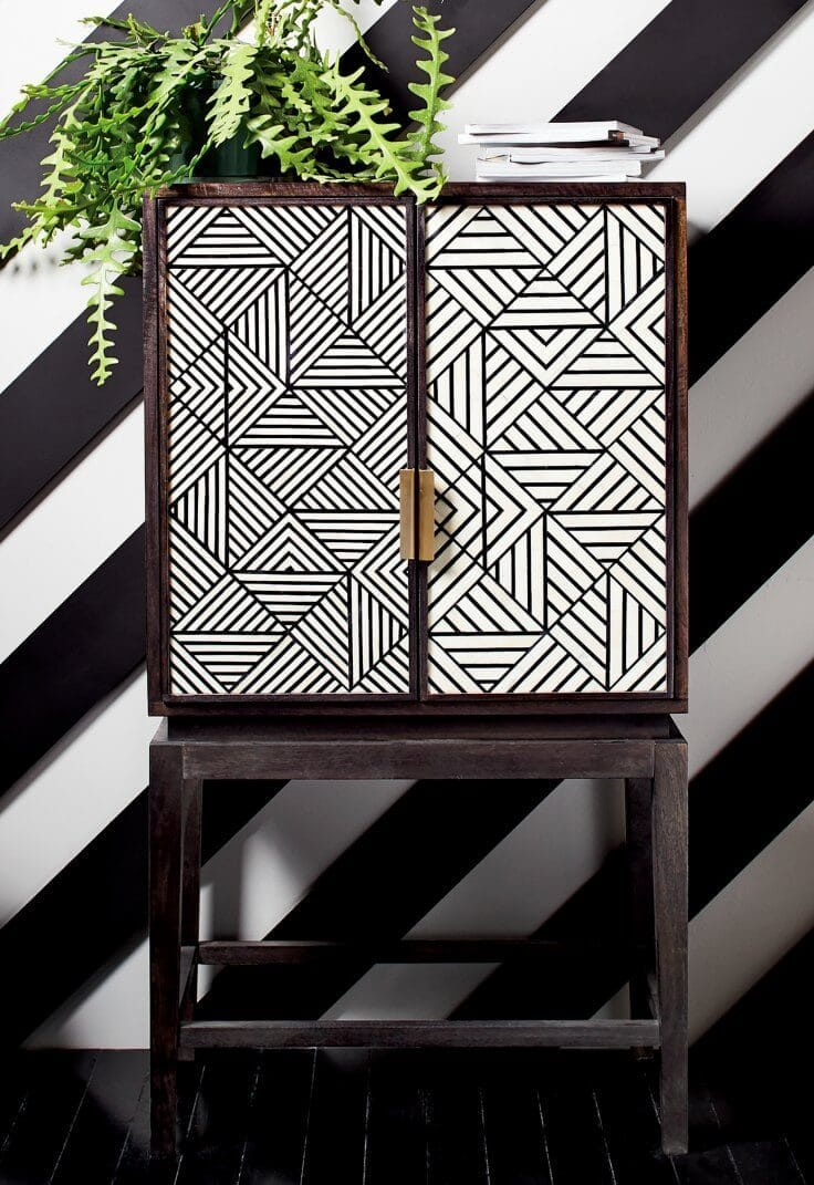 12 Chic Storage Solutions For Every Pocket Of The Home Inside White Geometric Buffets (Gallery 29 of 30)
