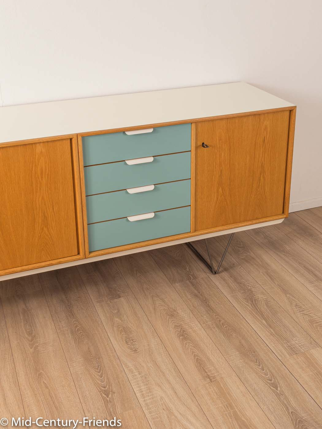 1960Er Jahre Sideboard, Heinrich Riestenpatt|Mid Century Friends intended for Mid-Century Brown and Grey Sideboards (Image 1 of 30)