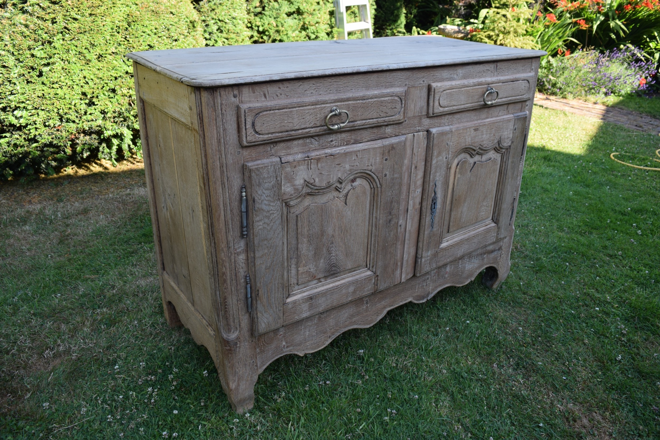 19Th Century Bleached Oak French Buffet   560394 Intended For French Oak Buffets (Gallery 29 of 30)