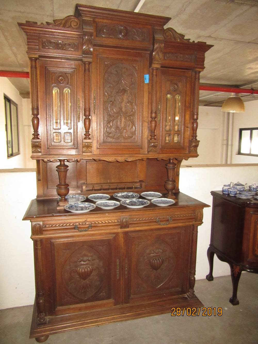 19Thc French Oak Buffet With Regard To French Oak Buffets (Gallery 21 of 30)