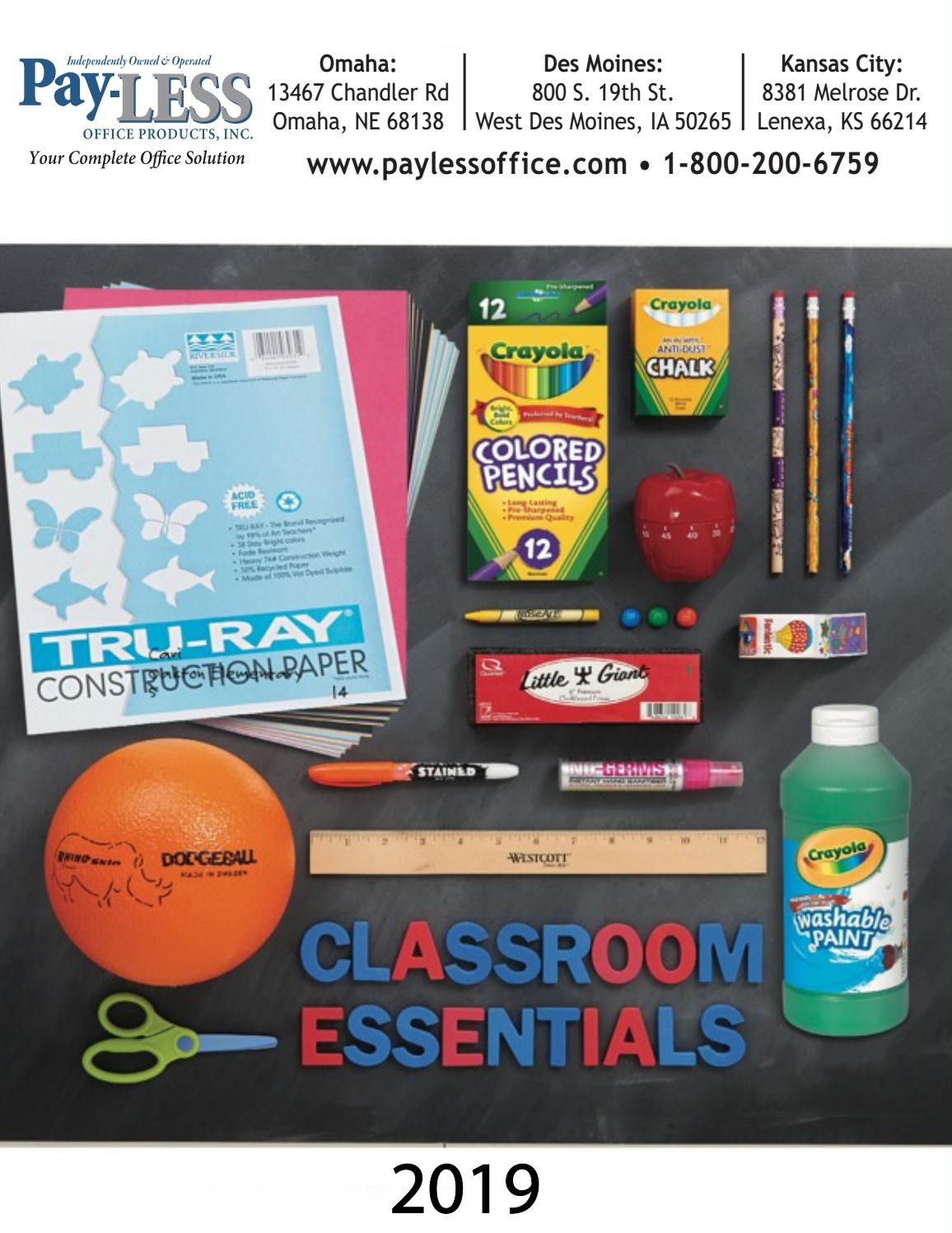 2019 Classroom Essentialspay-Less Office Products - Issuu with regard to Juicy Guava Credenzas (Image 2 of 30)