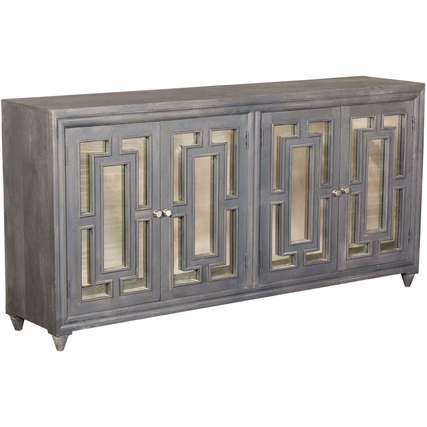 4 Door Sideboard – Vascular Throughout Steinhatchee Reclaimed Pine 4 Door Sideboards (View 4 of 30)