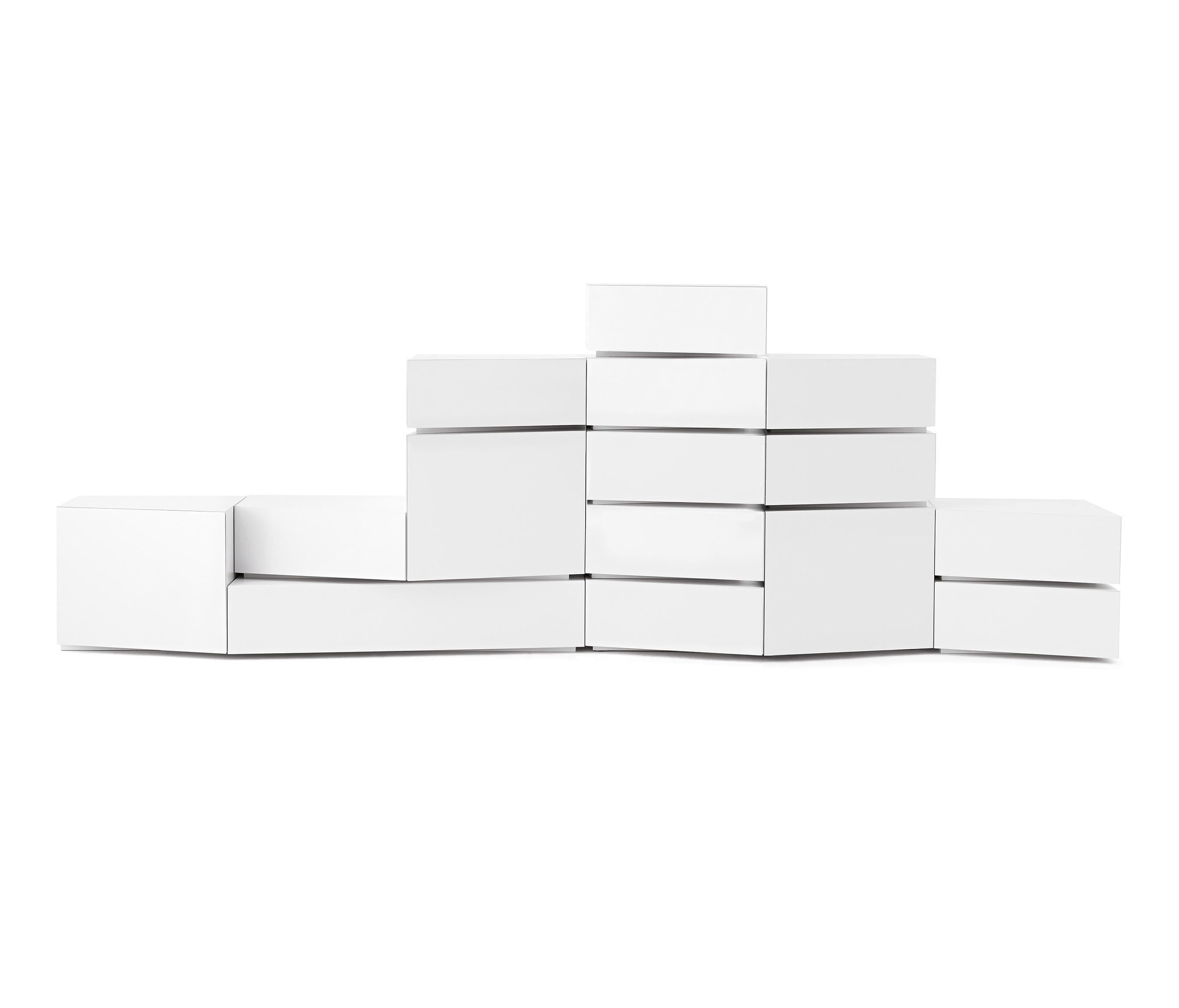 5 Blocks White - Sideboards / Kommoden Von Opinion Ciatti with regard to Thite Sideboards (Image 1 of 30)