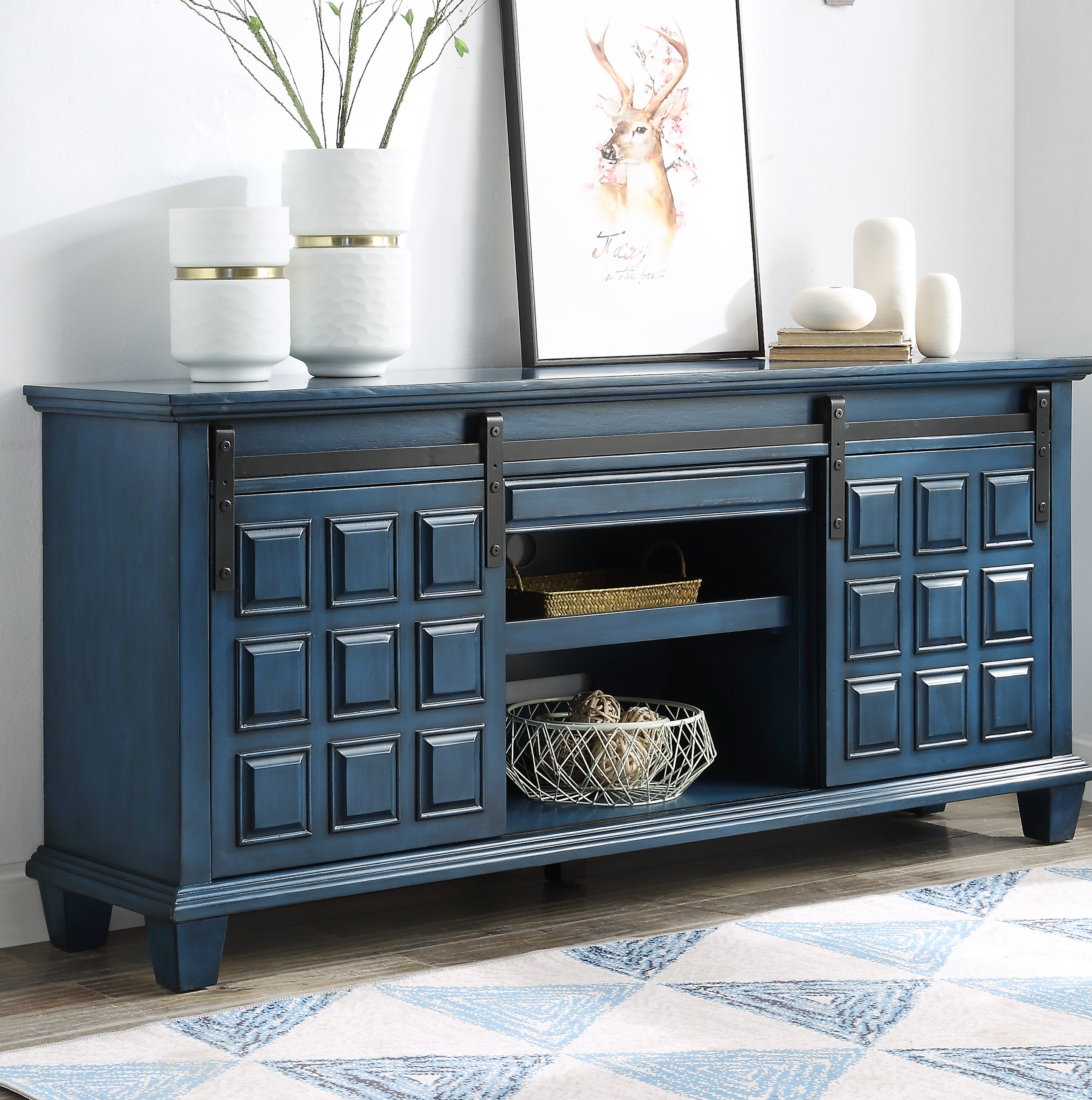 70 Inch Credenza You'll Love In 2019 | Wayfair For Candace Door Credenzas (View 3 of 30)